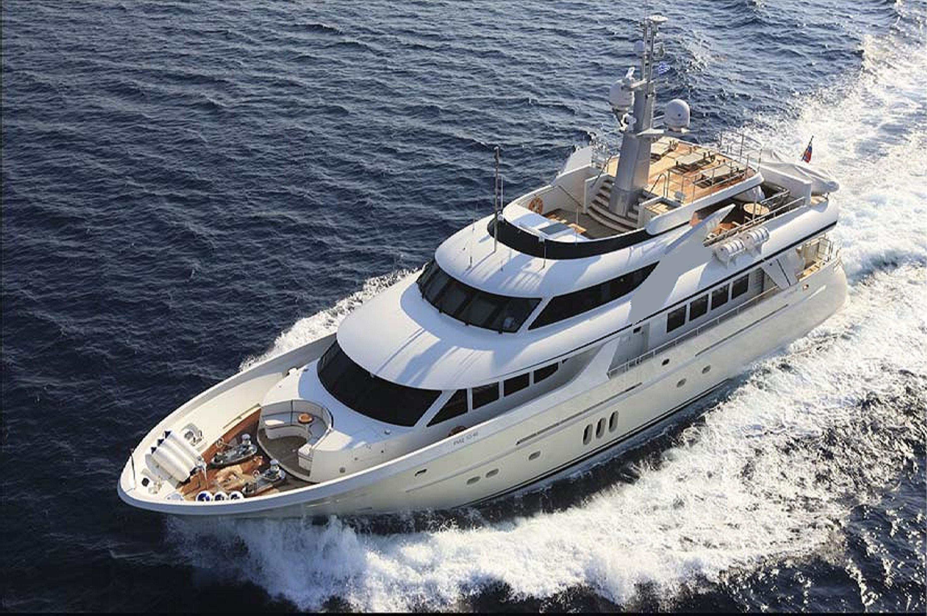 Timmerman Motor Yacht MILAYA - Aerial view