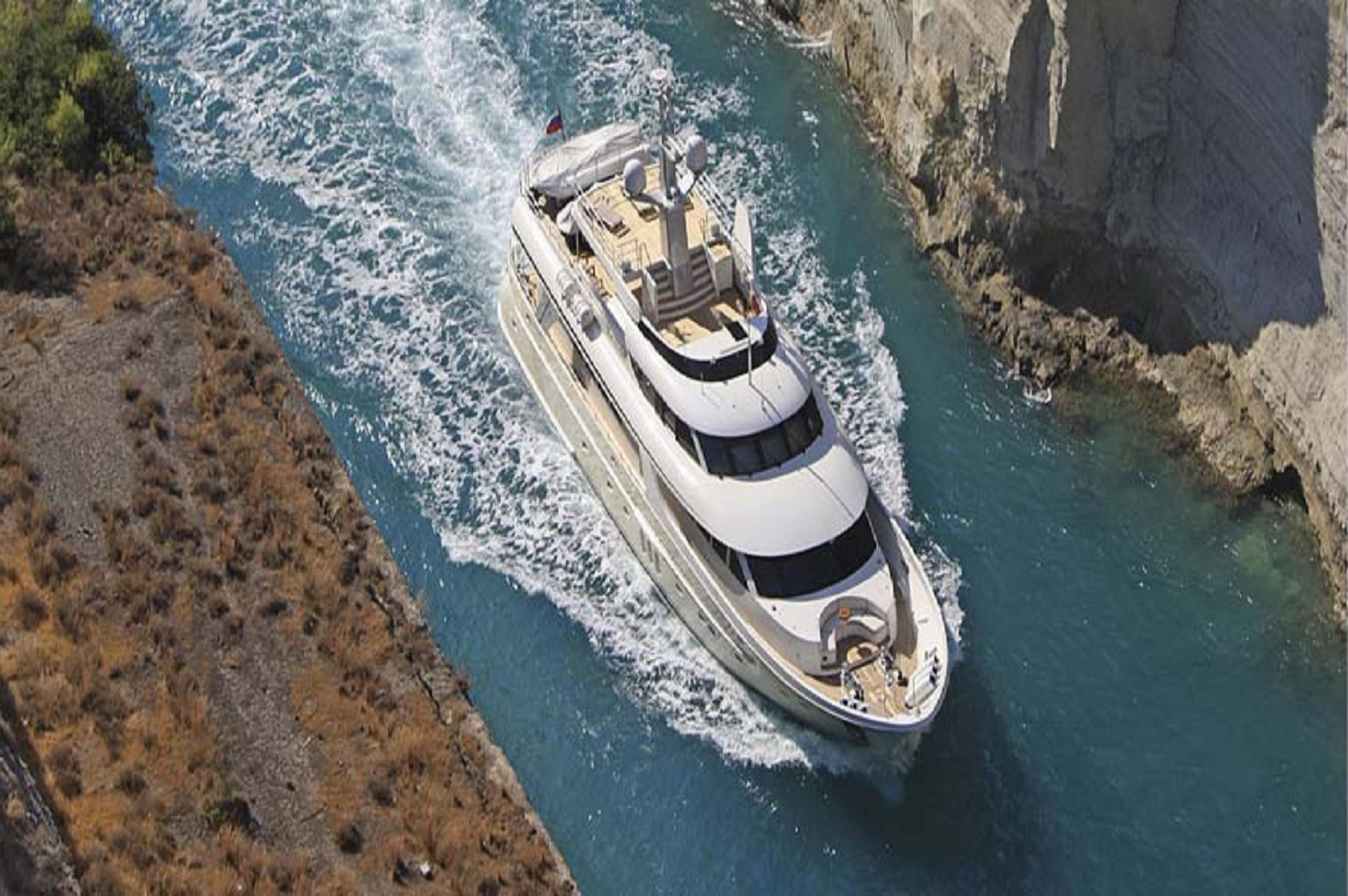 Timmerman Motor Yacht MILAYA - Running