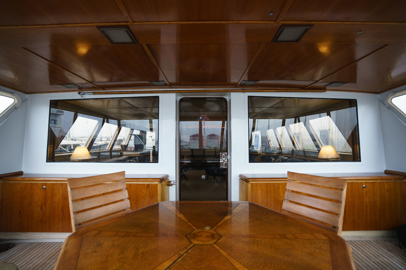 Aft Deck Dining Table