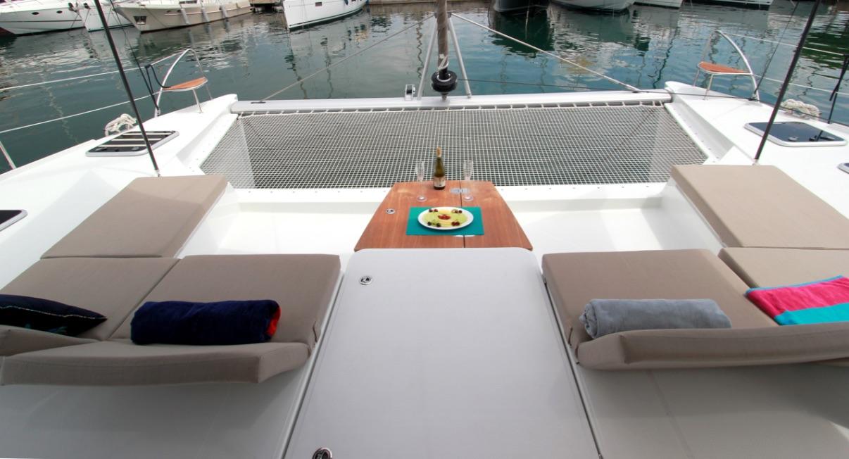 Fountaine Pajot Saba 50 Yacht TIZIANO sistership - Foredeck