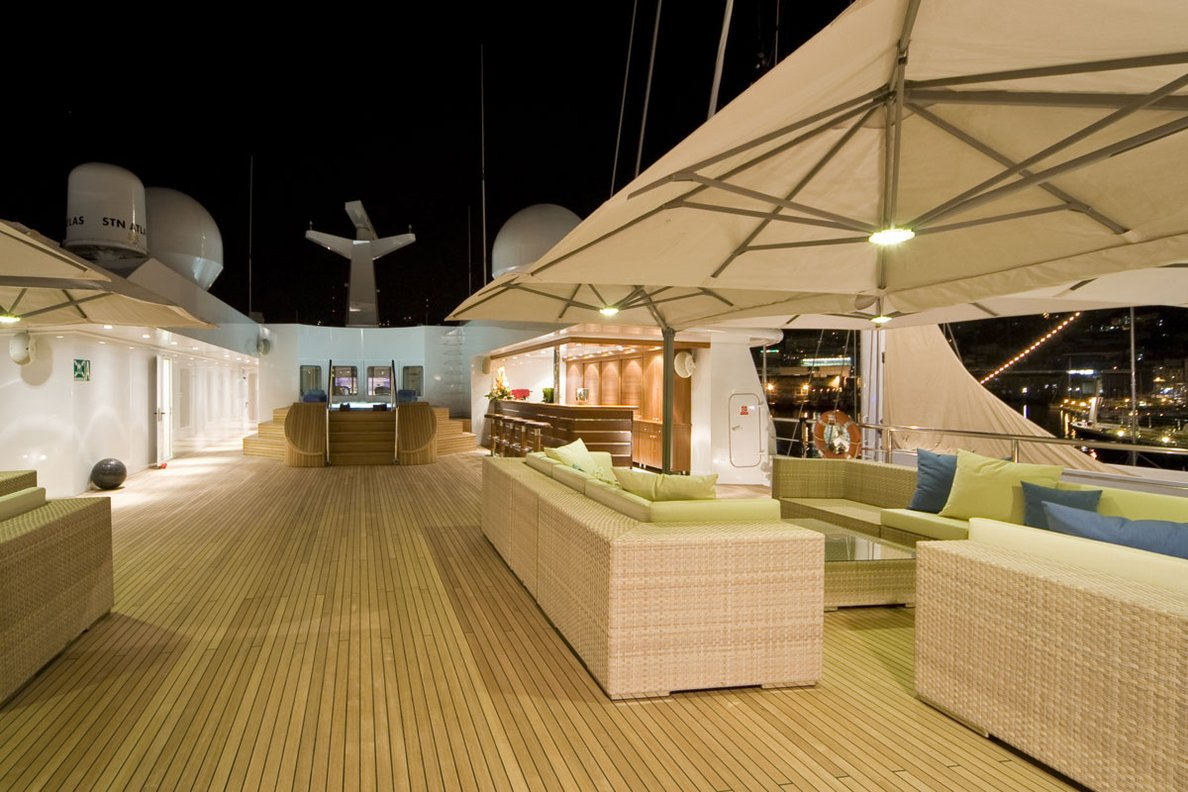 Sundeck At Night