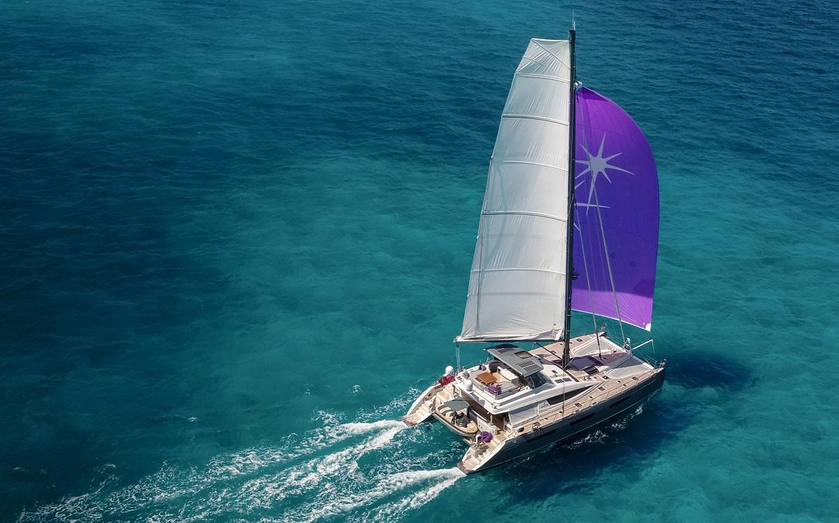 S/Y NAMASTE - Under sail
