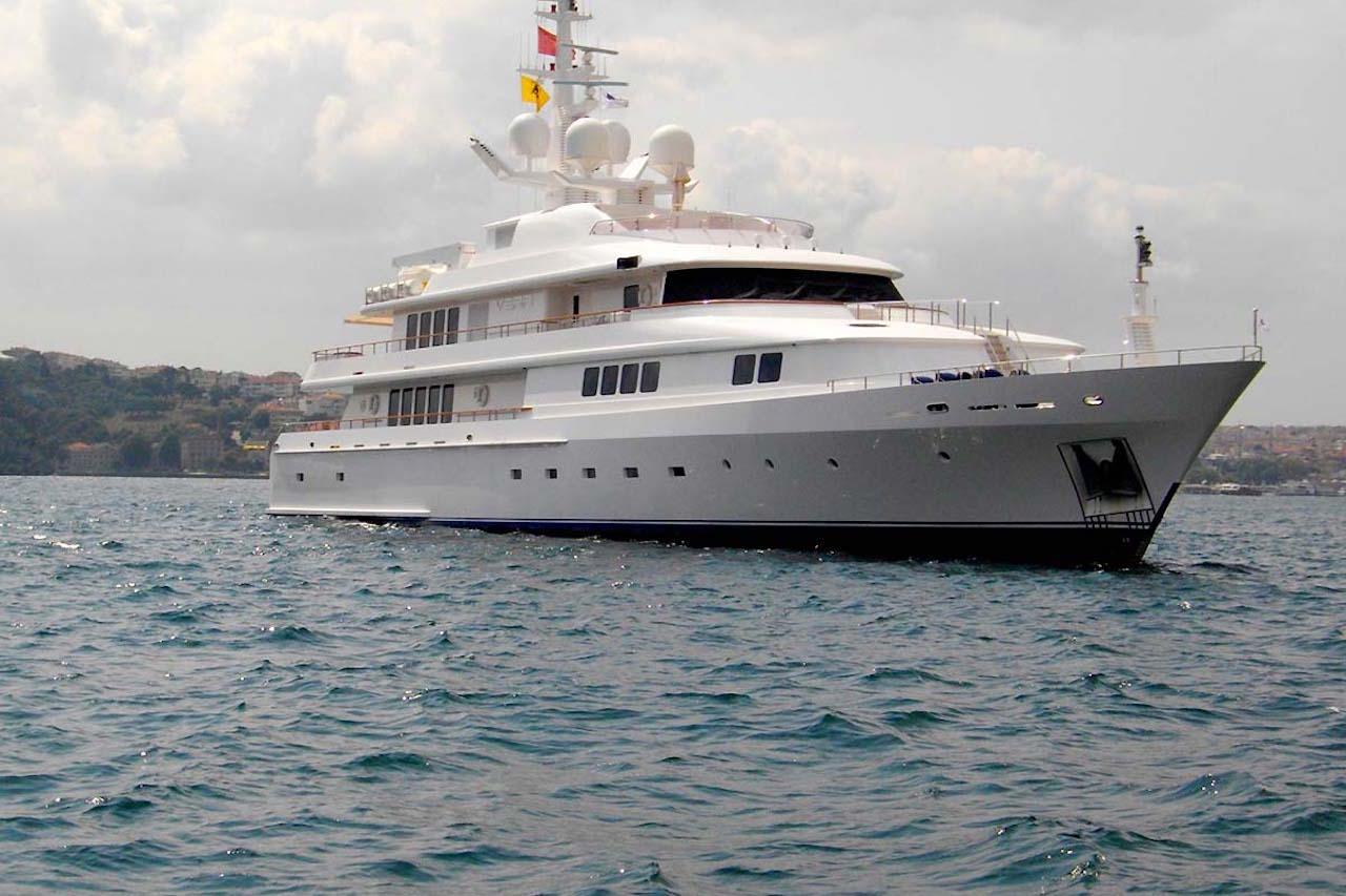 Vera Superyacht at Anchor