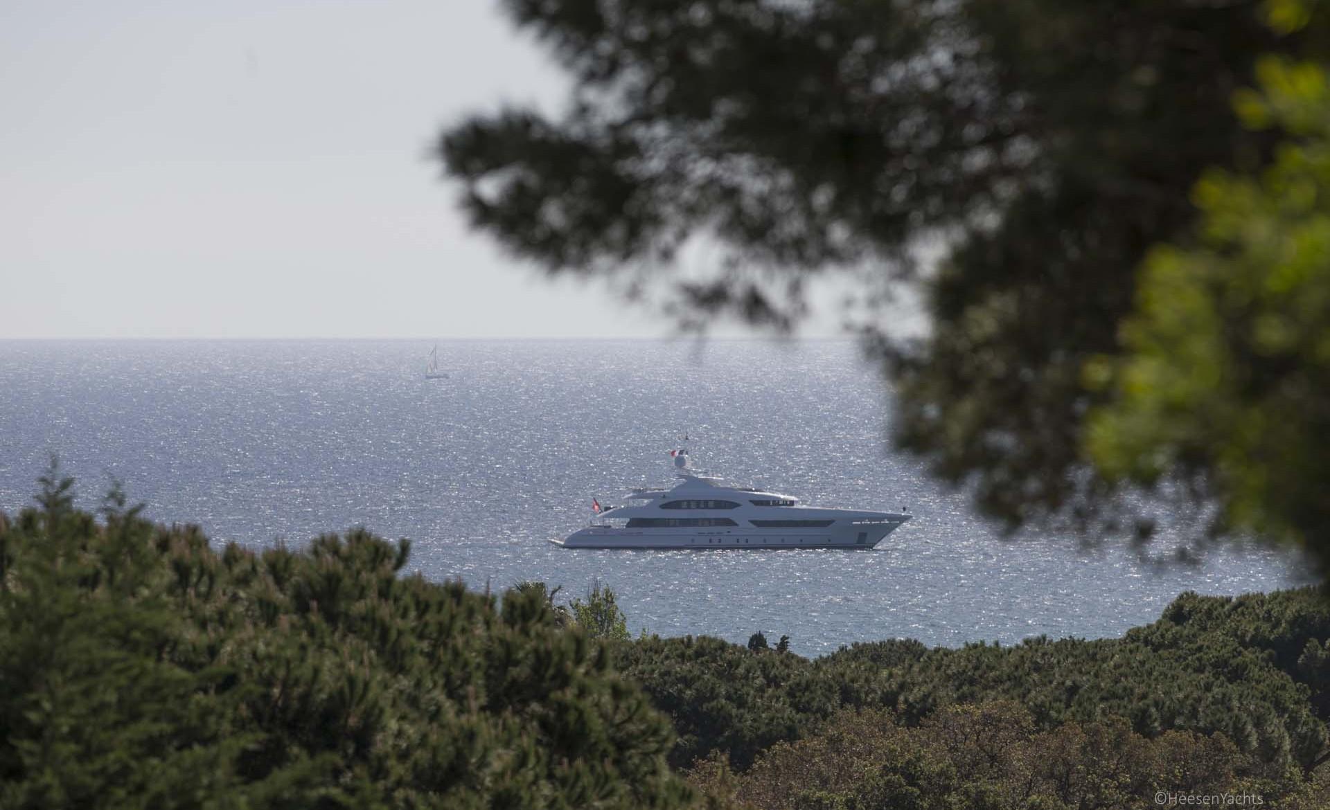 47m Heesen Yacht In The Mediterranean