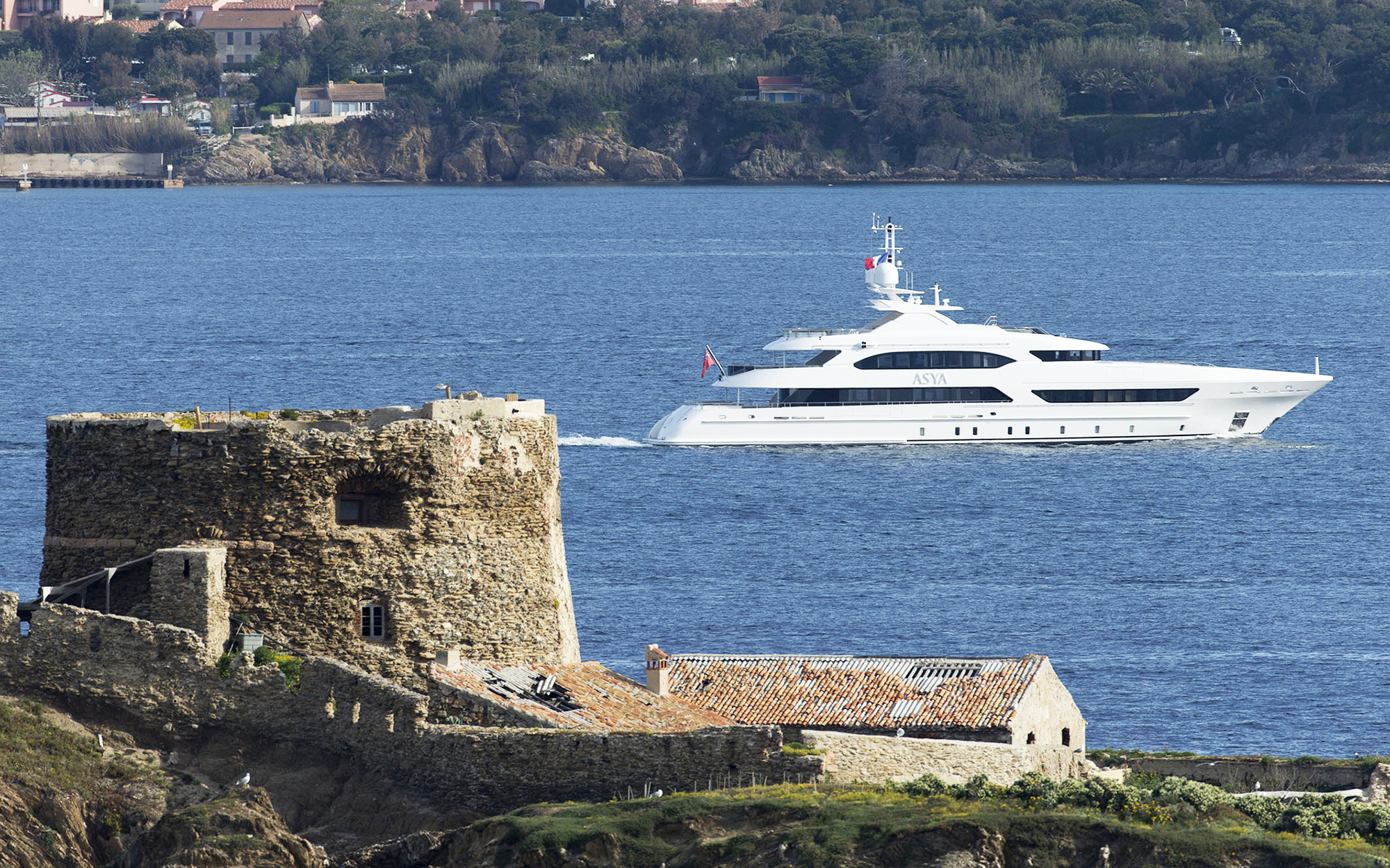 47m Yacht By Heesen Cruising In The Mediterranean