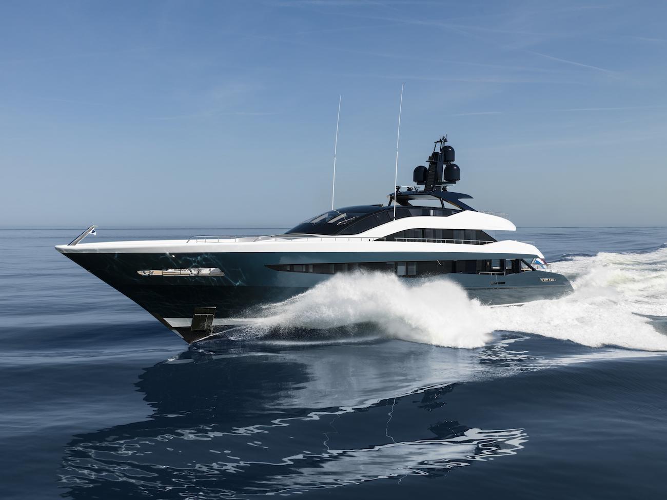 51m IRISHA By Heesen On Sea Trials