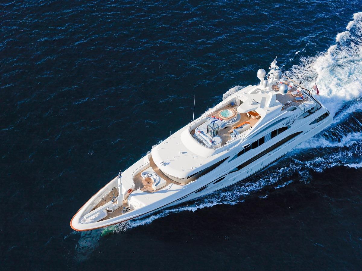 52m Cutom Superyacht By Benetti