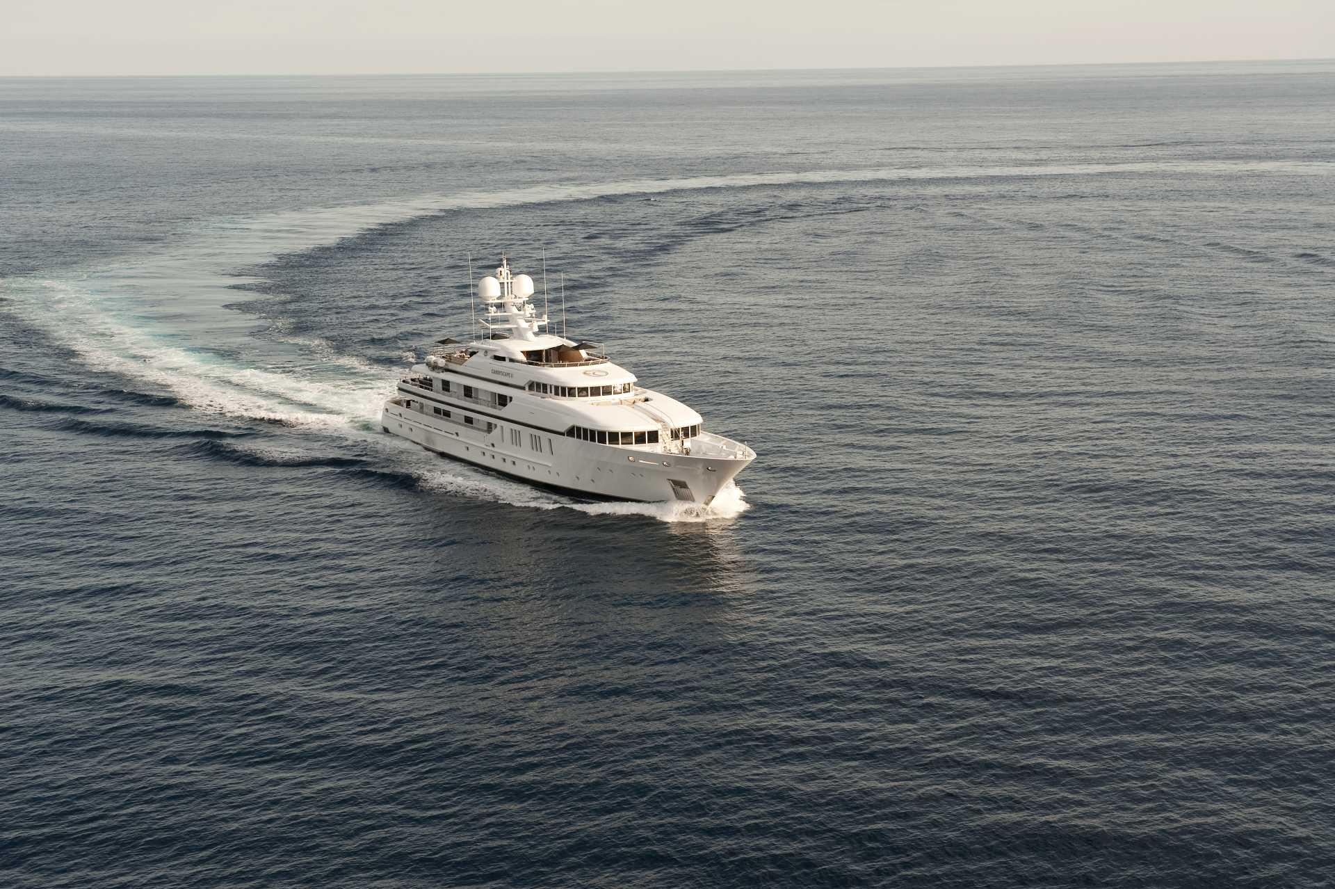 62m Superyacht Cruising Profile