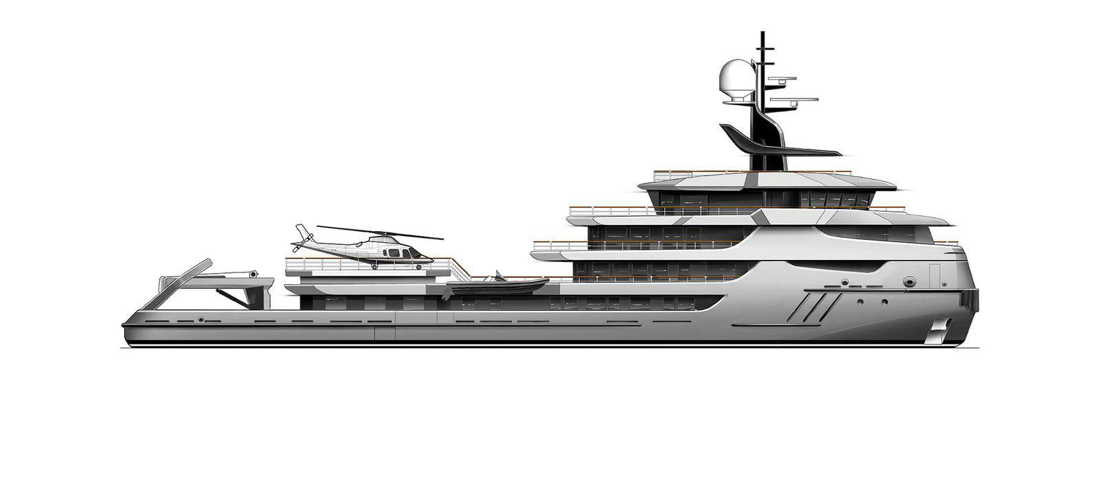 68m Conversion Project By Icon Yachts