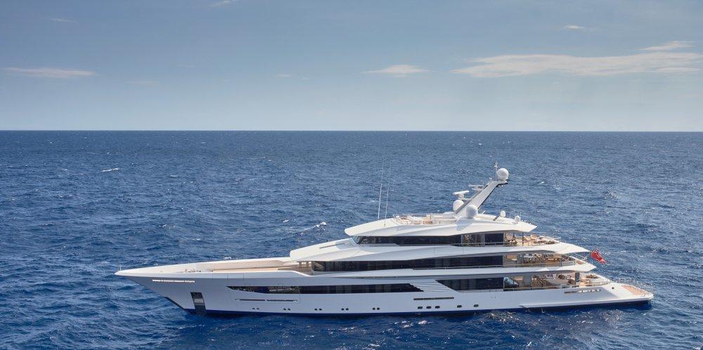 70m Feadship Custom Yacht