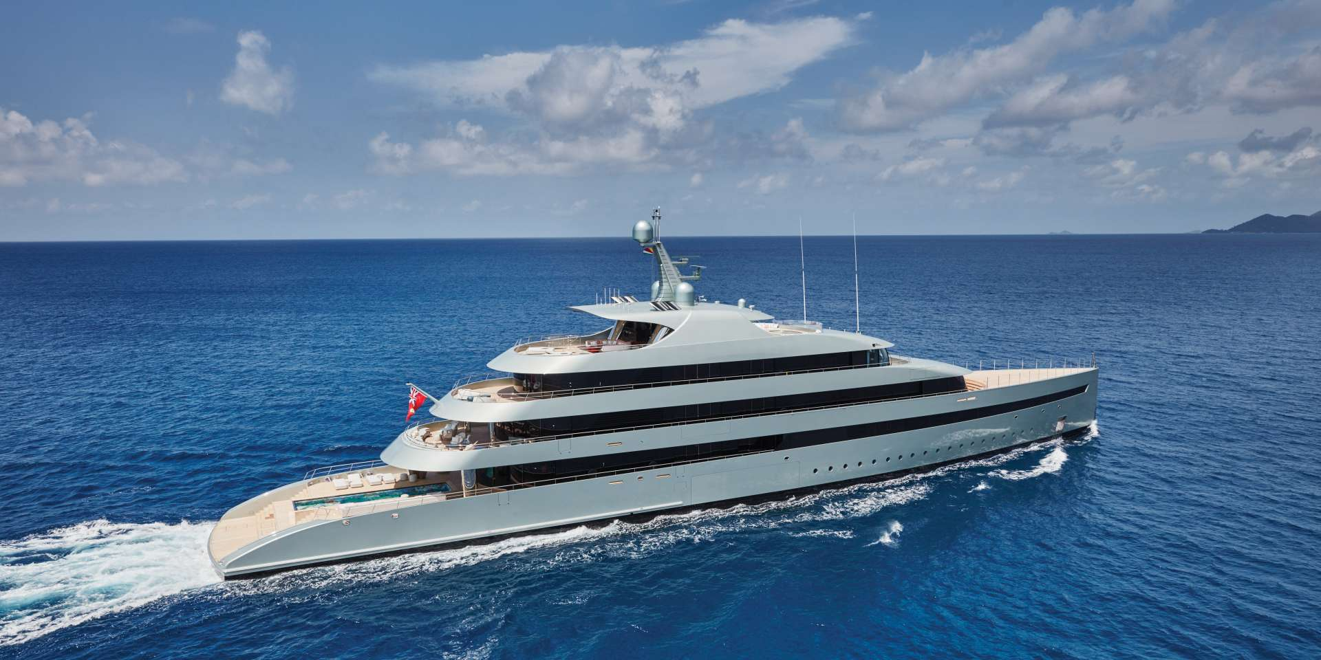 84m Custom Superyacht By Feadship Cruising