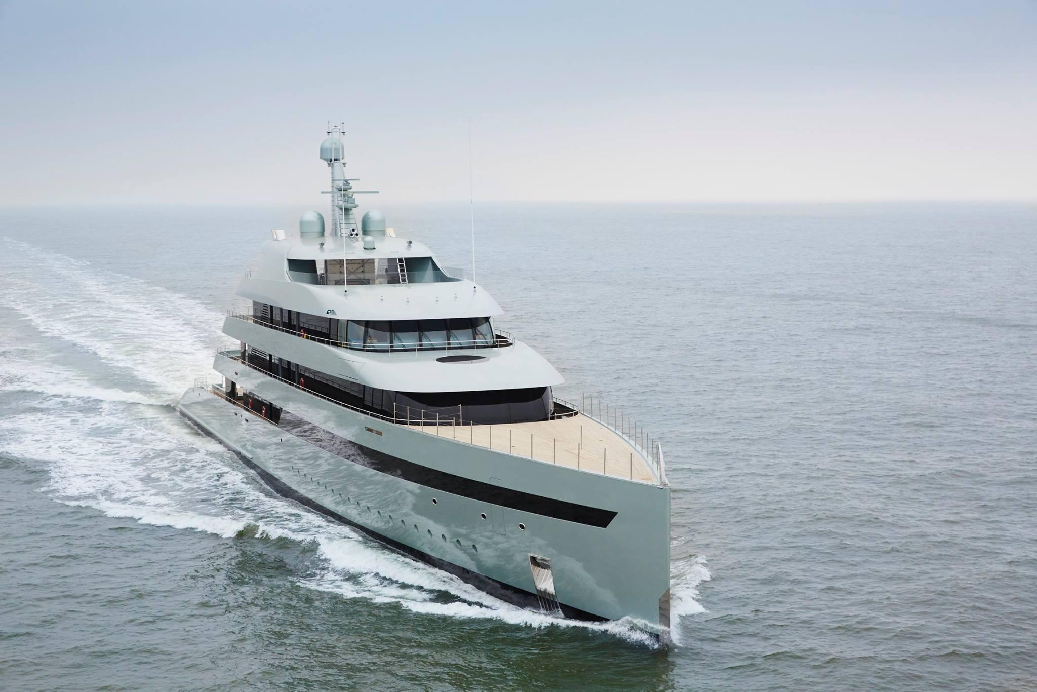84m Custom Feadship Yacht