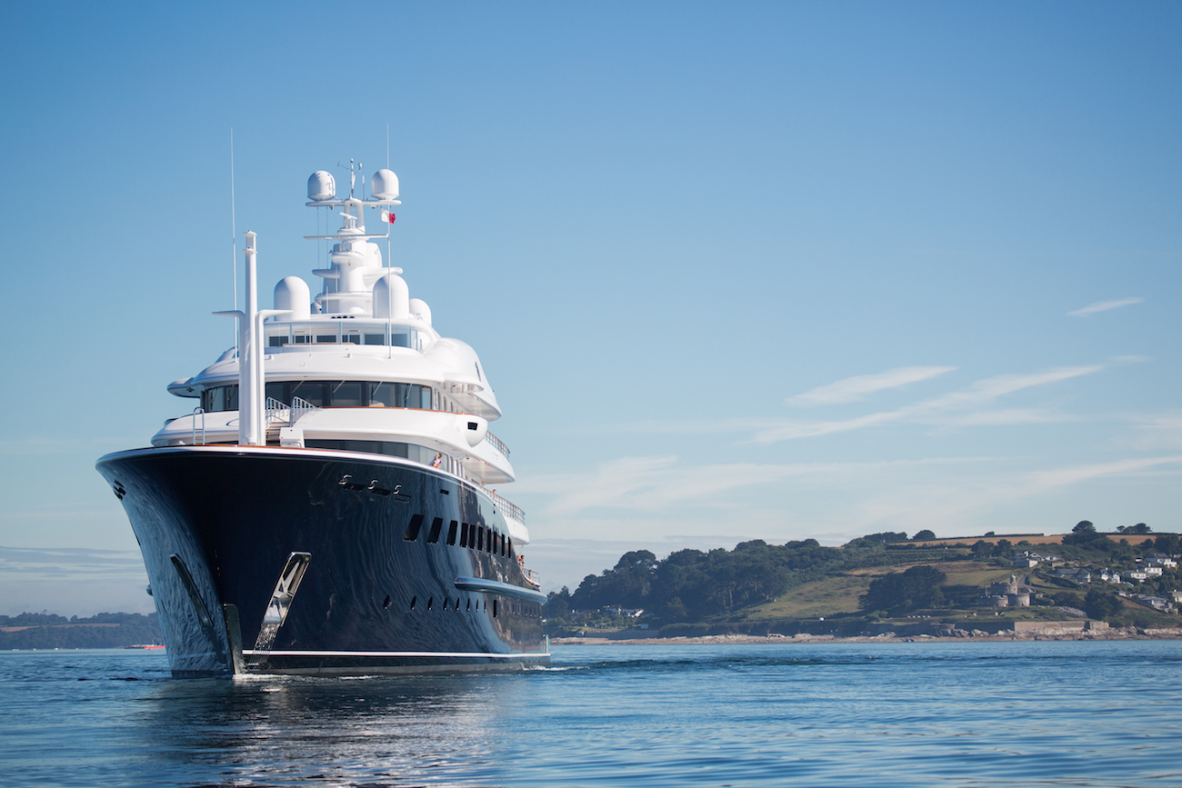 86m Custom Mega Yacht Refitted Completely By Pendennis