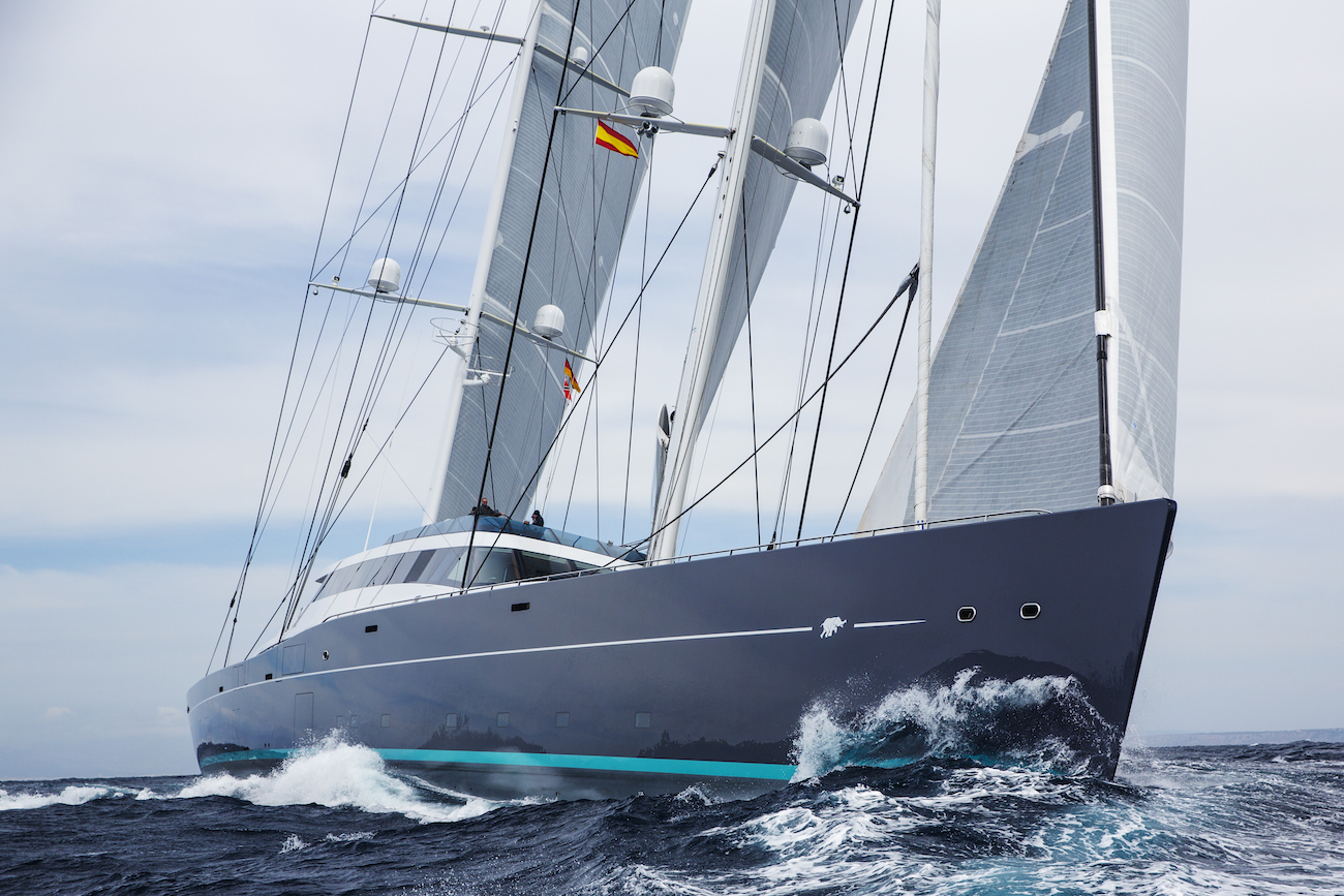 86m Bill Tripp, Vitters & Oceanco Sailing Yacht