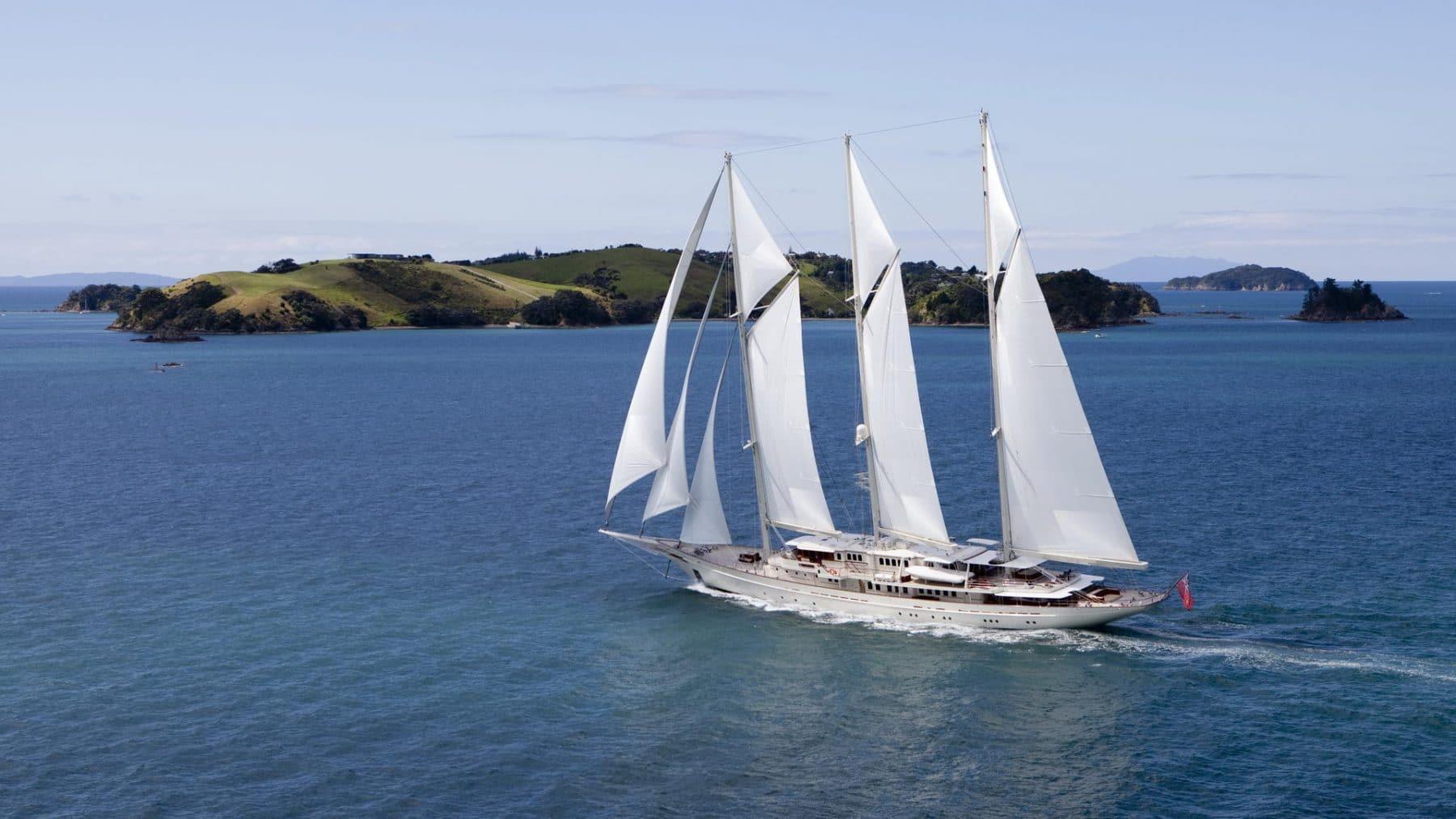 90m Royal Huisman Sailing Yacht