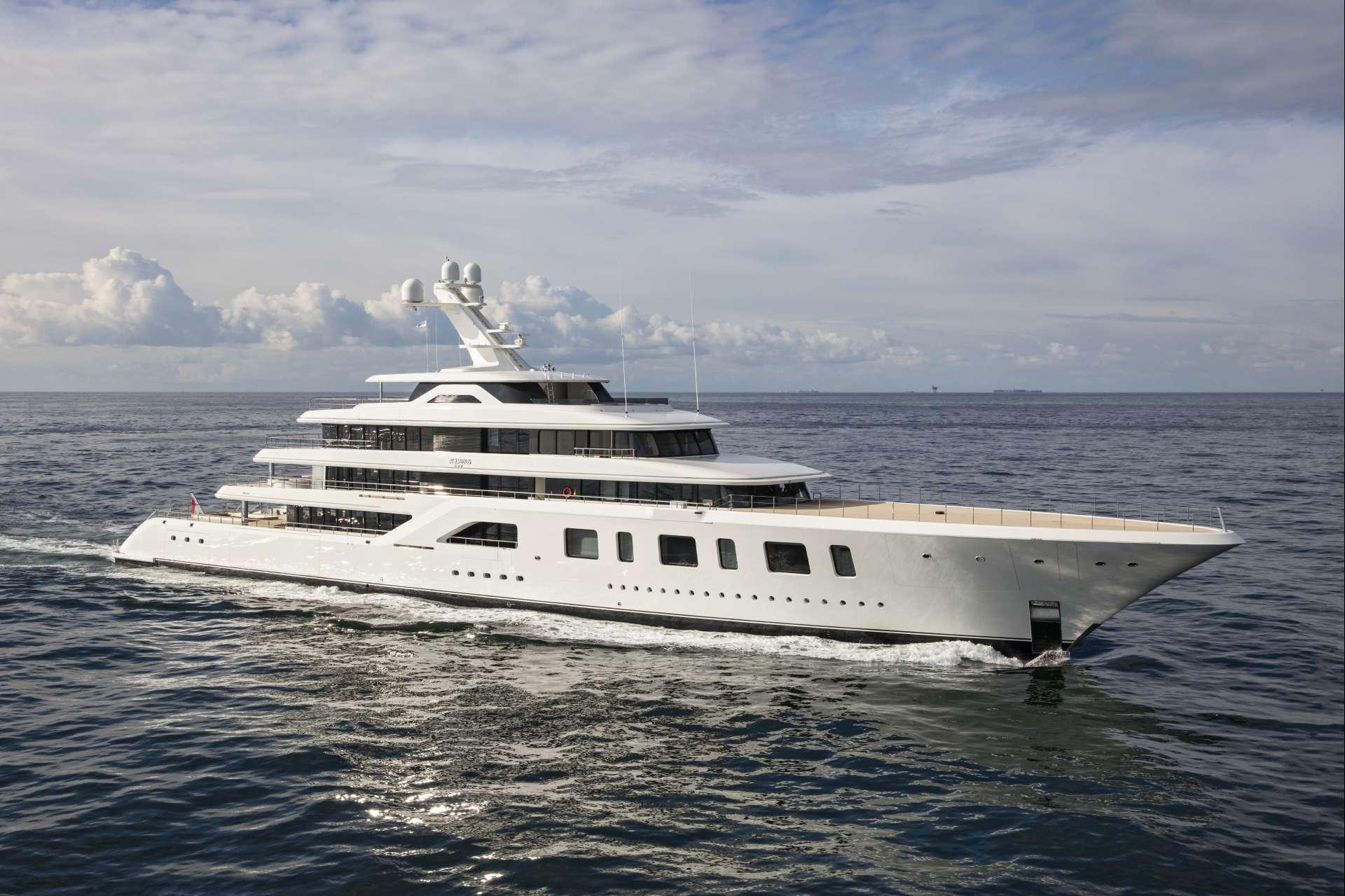 92m Superyacht By Feadship - Underway 3