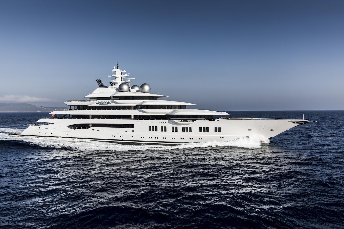 AMADEA superyacht