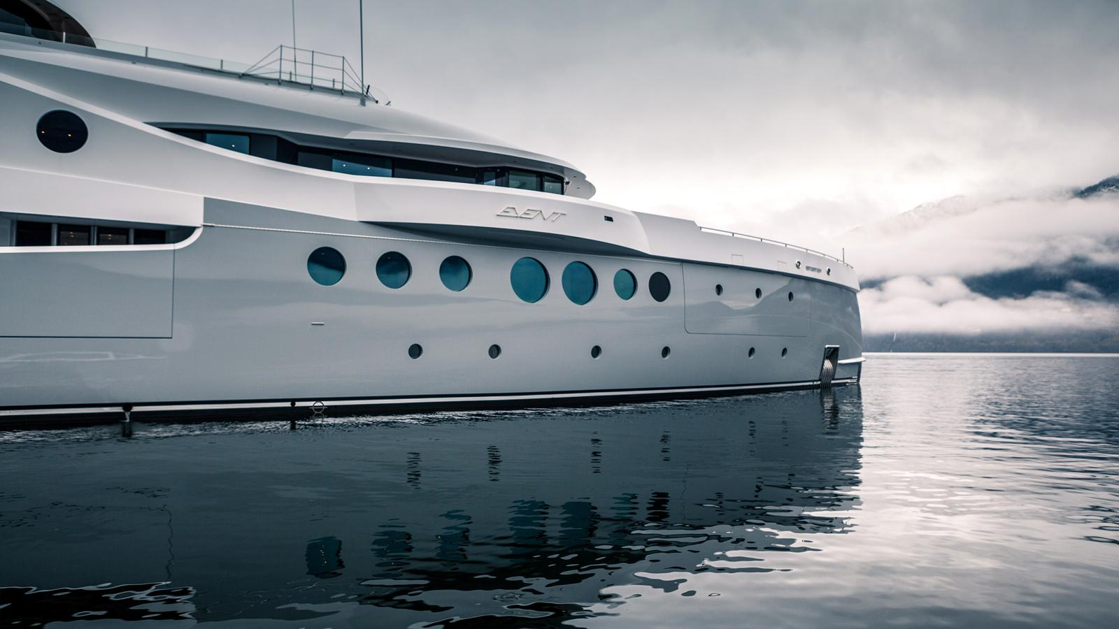 AMELS 199 Limited Edition Yacht - Bow
