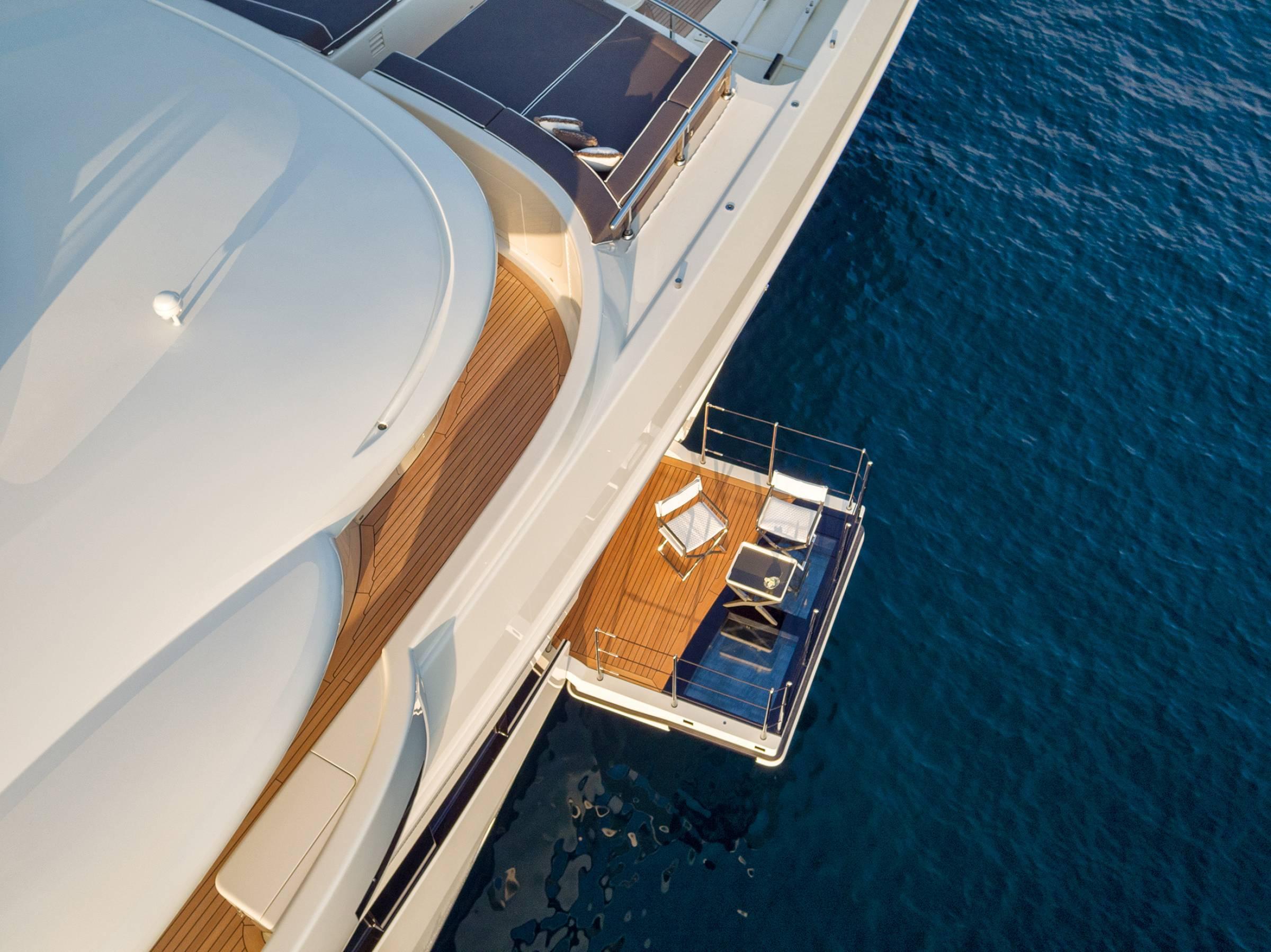Amels 180 Mediterranean - Side Opening Balconies