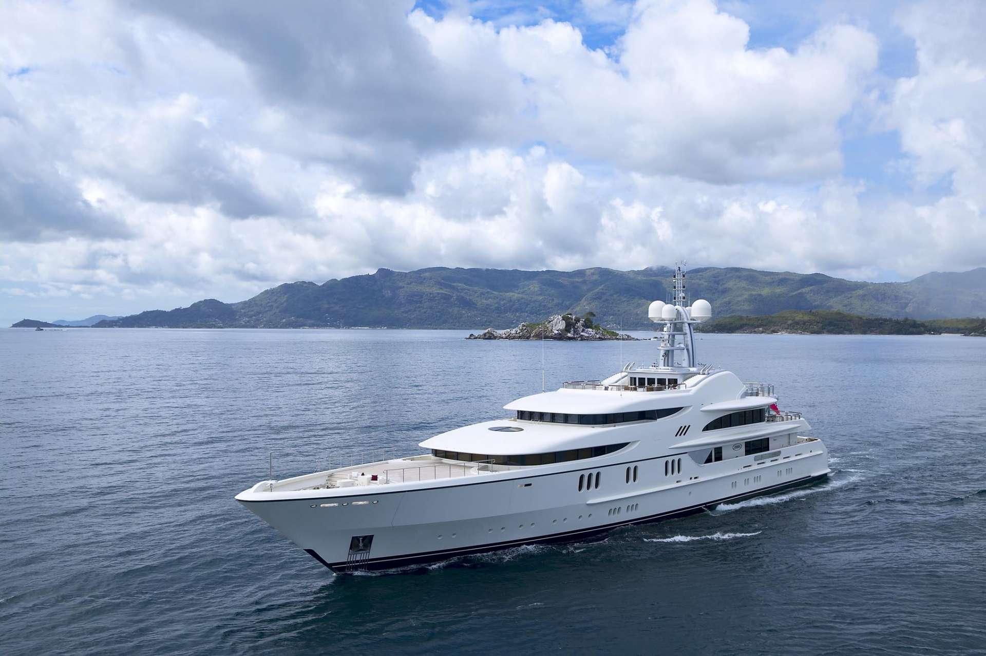 Anna By Feadship Cruising The Mediterranean