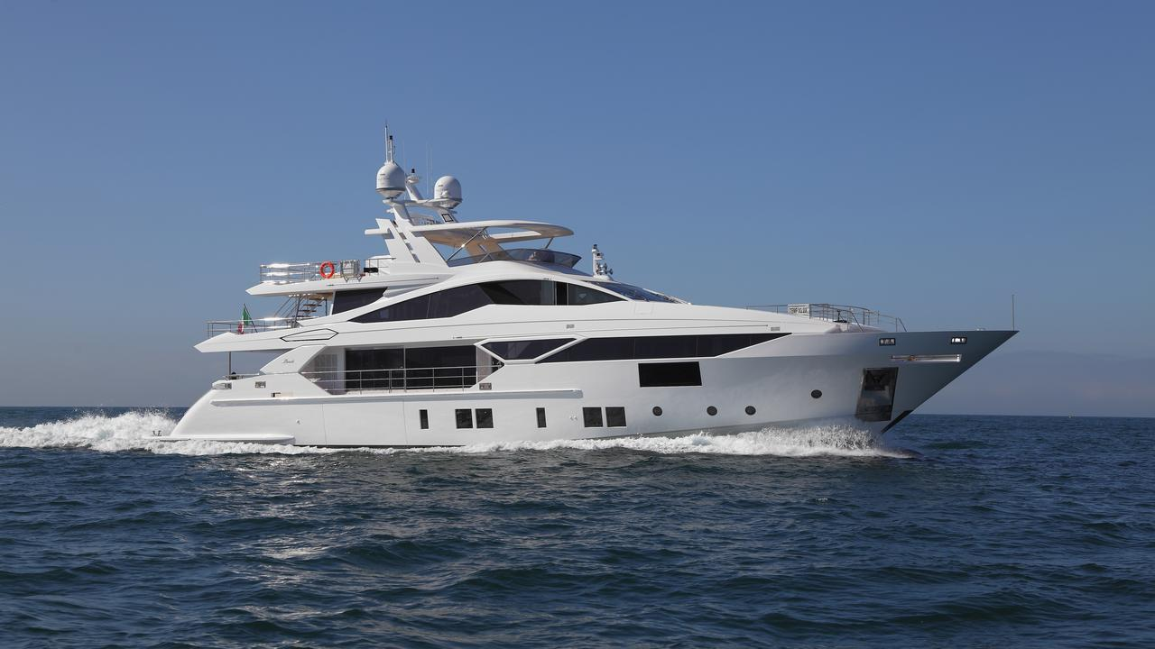 BENETTI Fast 125 Yacht - Underway In The Mediterranean