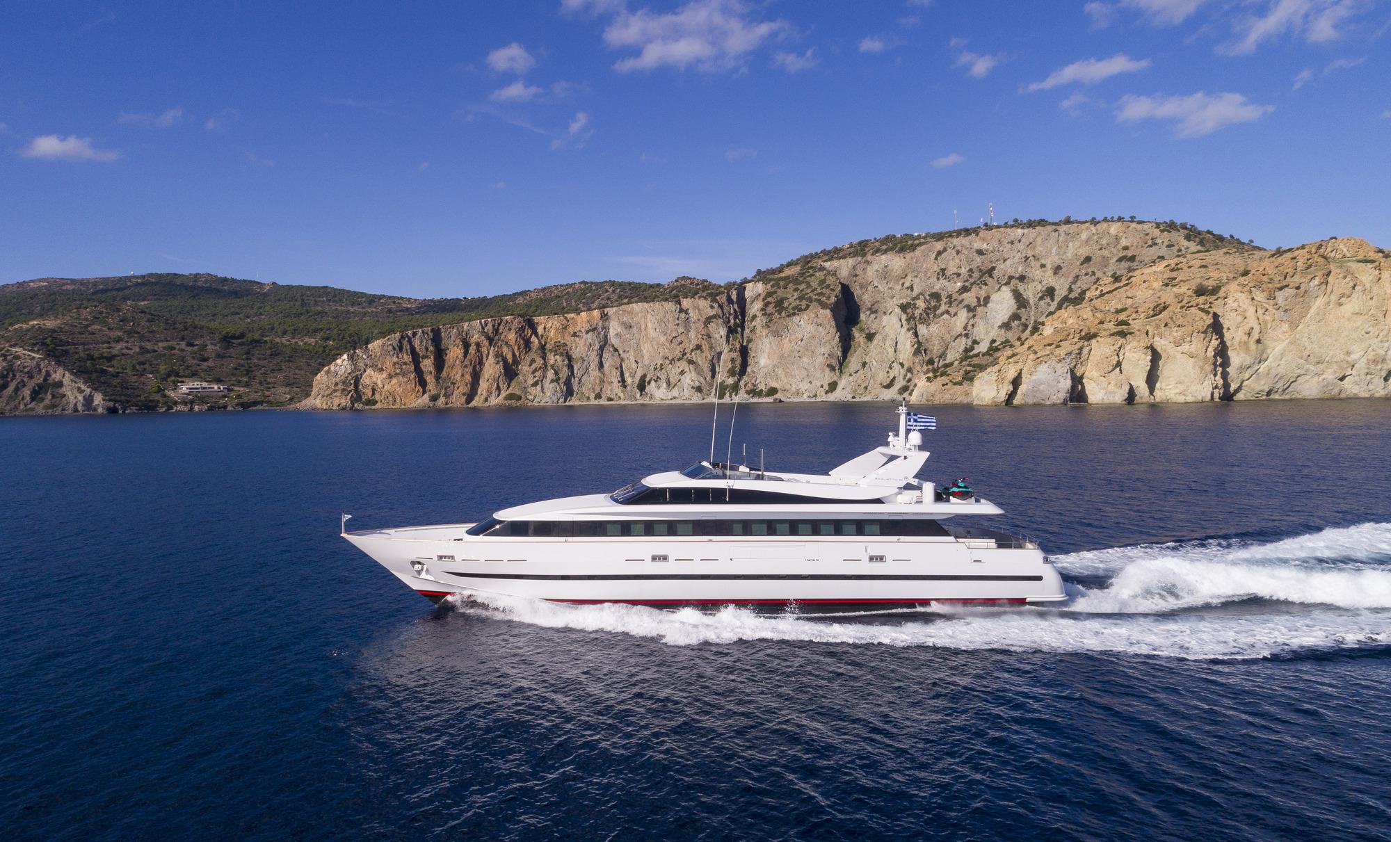 Baglietto Motor Yacht SOLE DI MARE - Main Shot