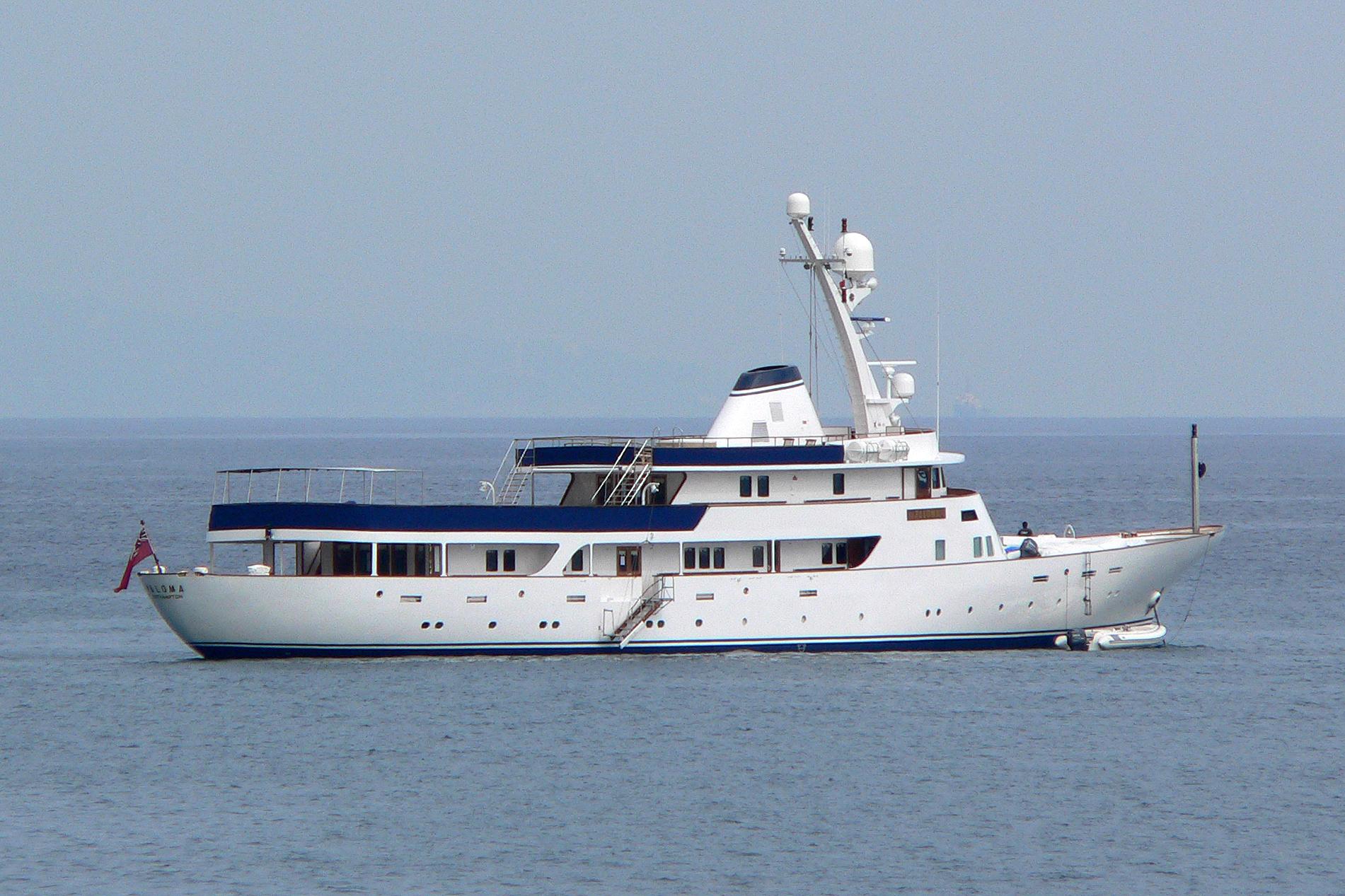 Beluga C Luxury Motor Yacht pre-refit. Post-refit photos to be uploaded.