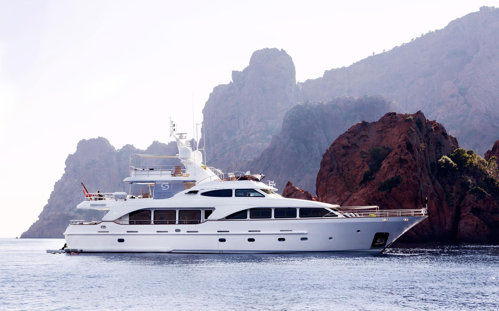Benetti Superyacht SALU Profile