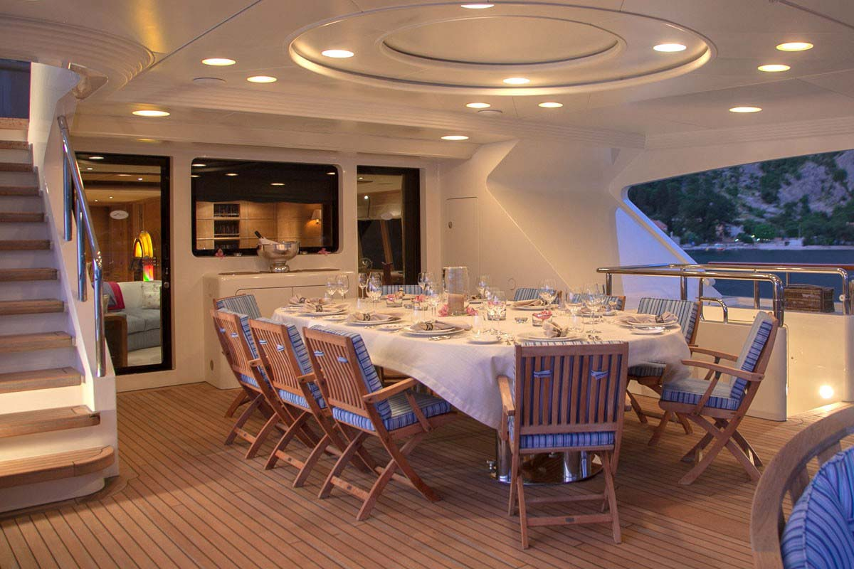 Benetti Jo Bridge Deck Al Fresco Table