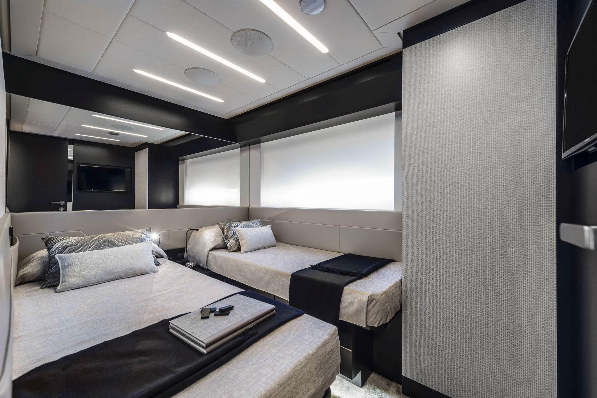 Beyond Cabin Lower Deck Twin