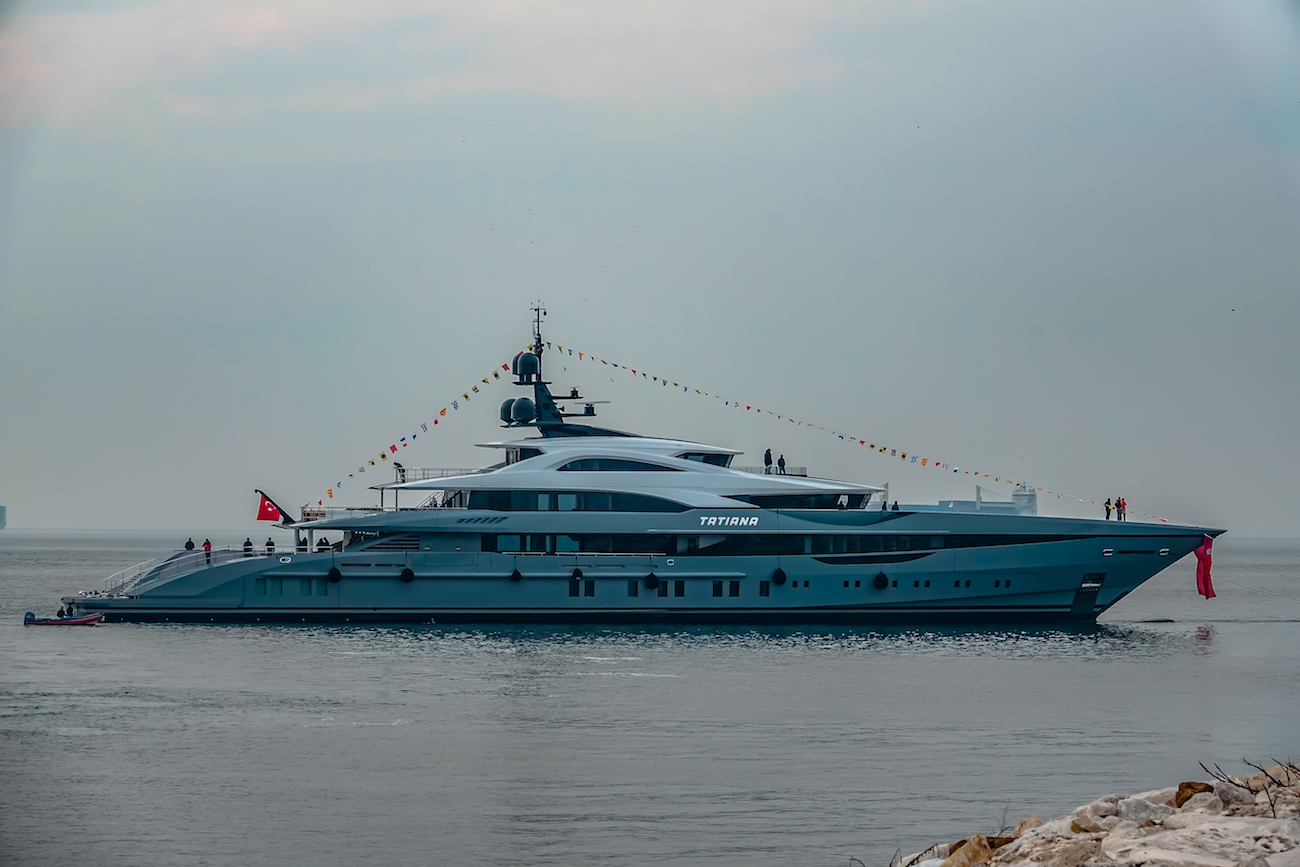 Bilgin 263-I 80m Superyacht TATIANA Launched In Turkey