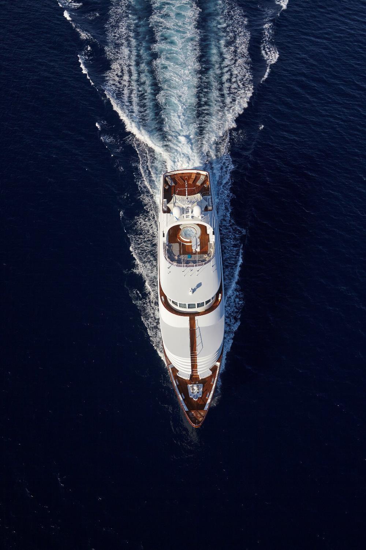 CRN Ancona Motor Yacht LADY ELLEN II - Running