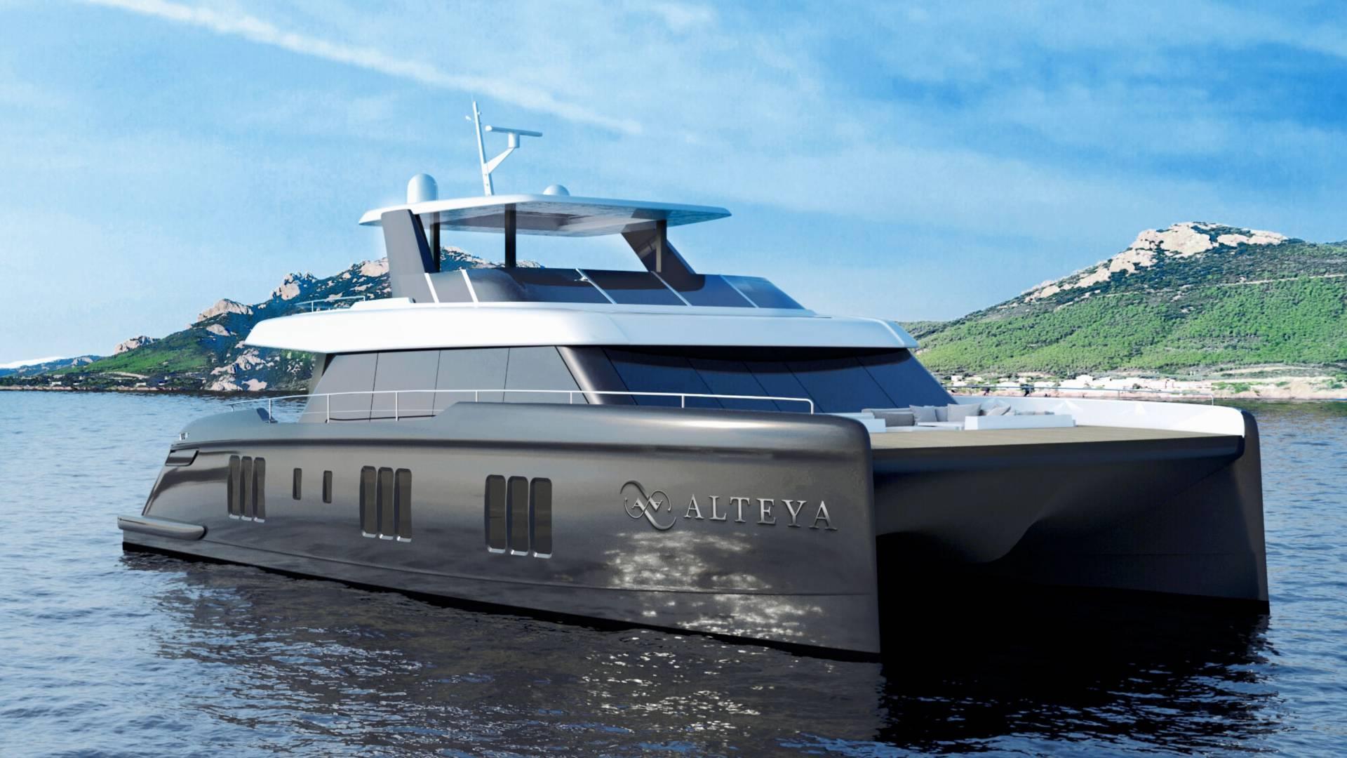 Catamaran ALTEYA Rendering