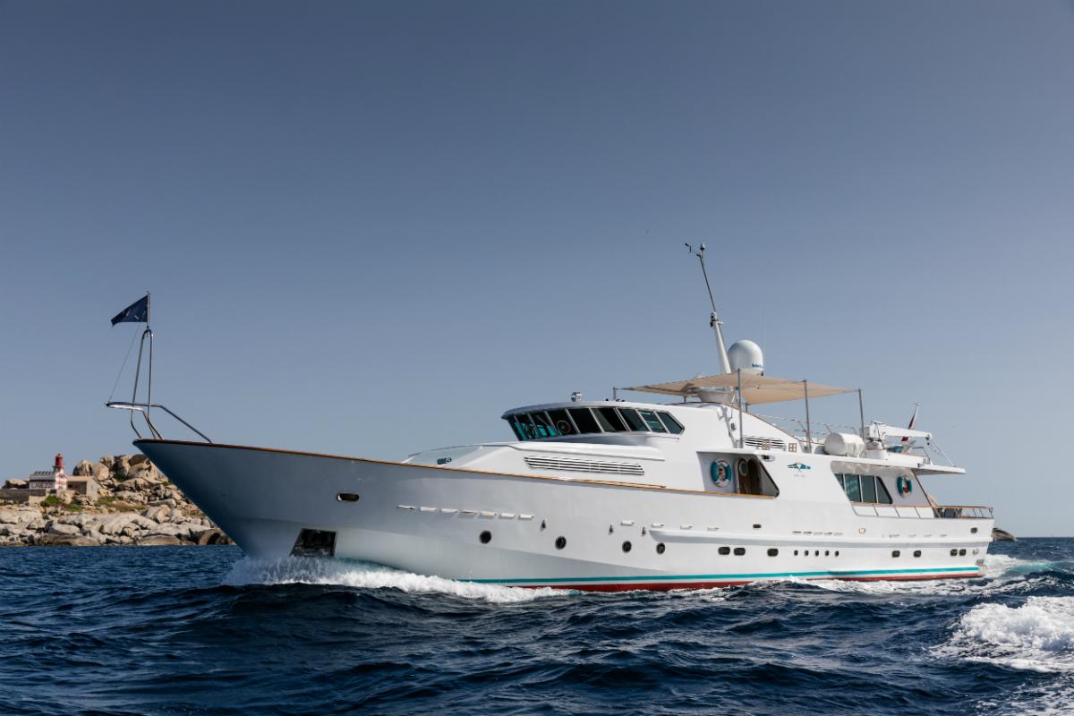 Classic Luxury Yacht VESPUCCI
