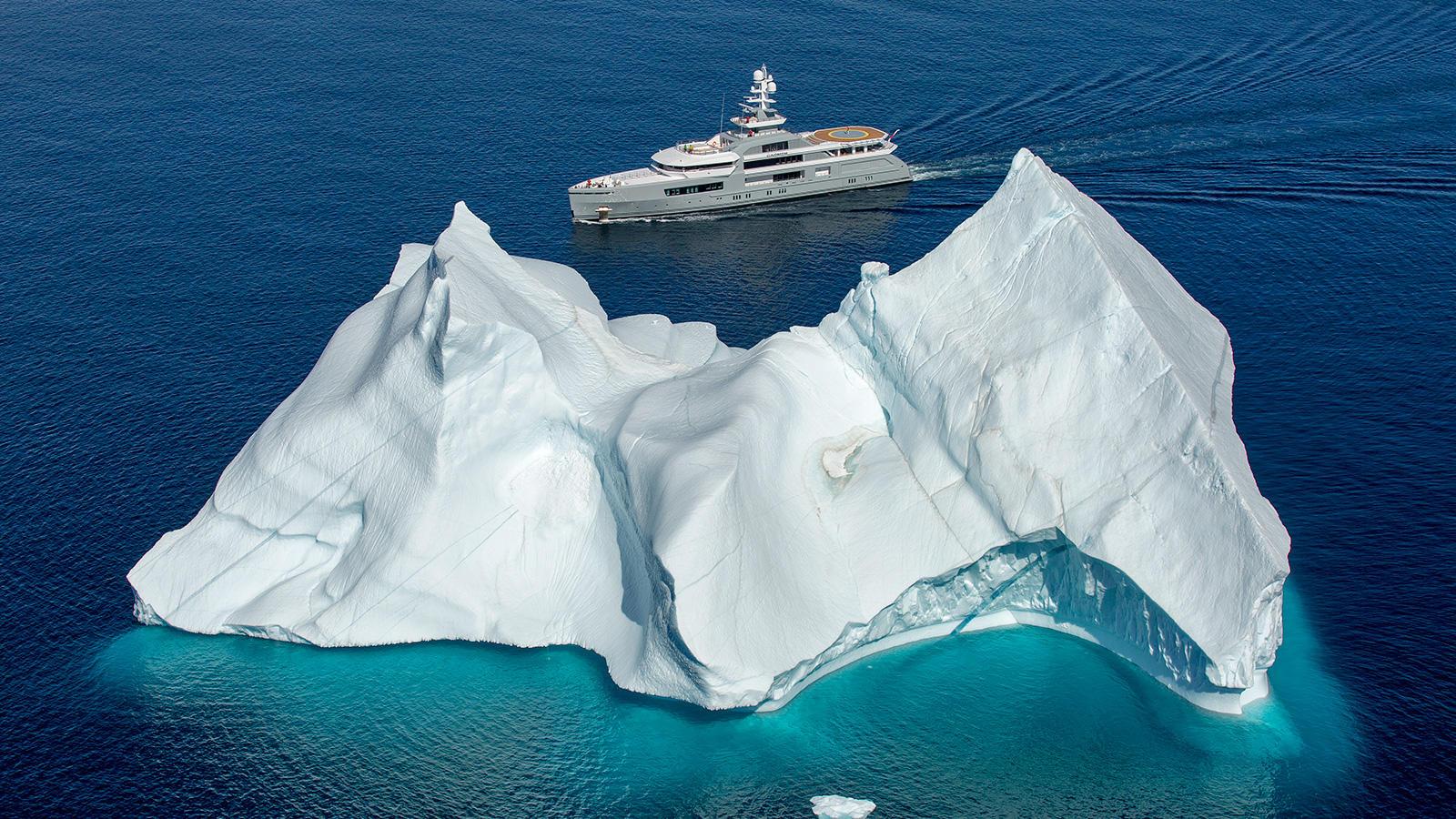 Cloudbreak Abeking Rasmussen Explorer Yacht Glacier