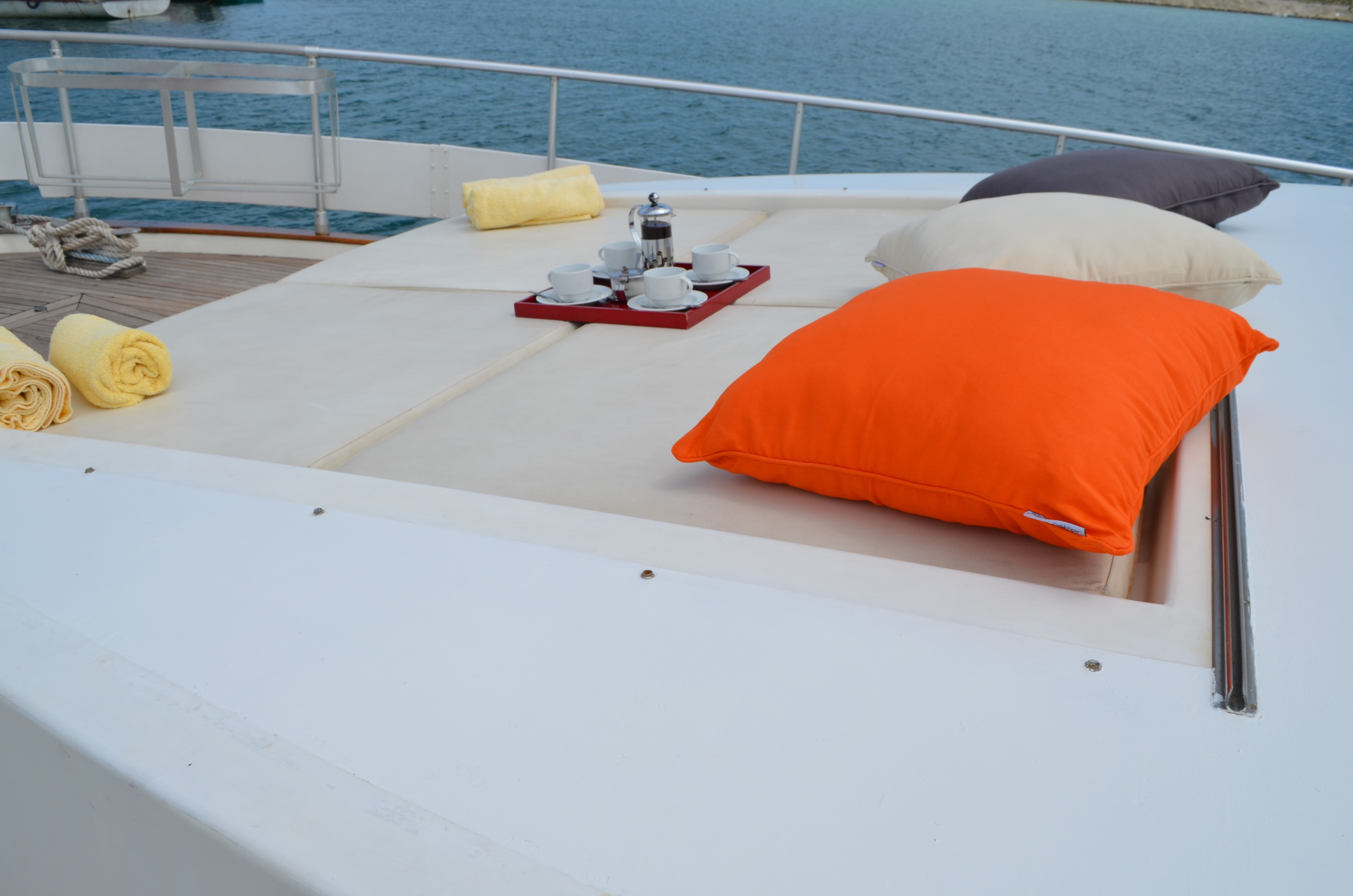 Coffee On The Foredeck