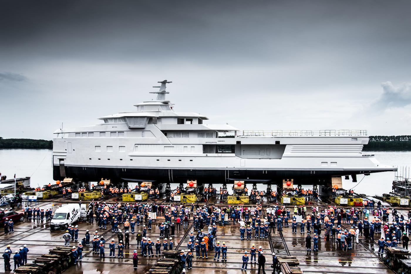 DAMEN SeaXplorer Superyacht To Hit Water