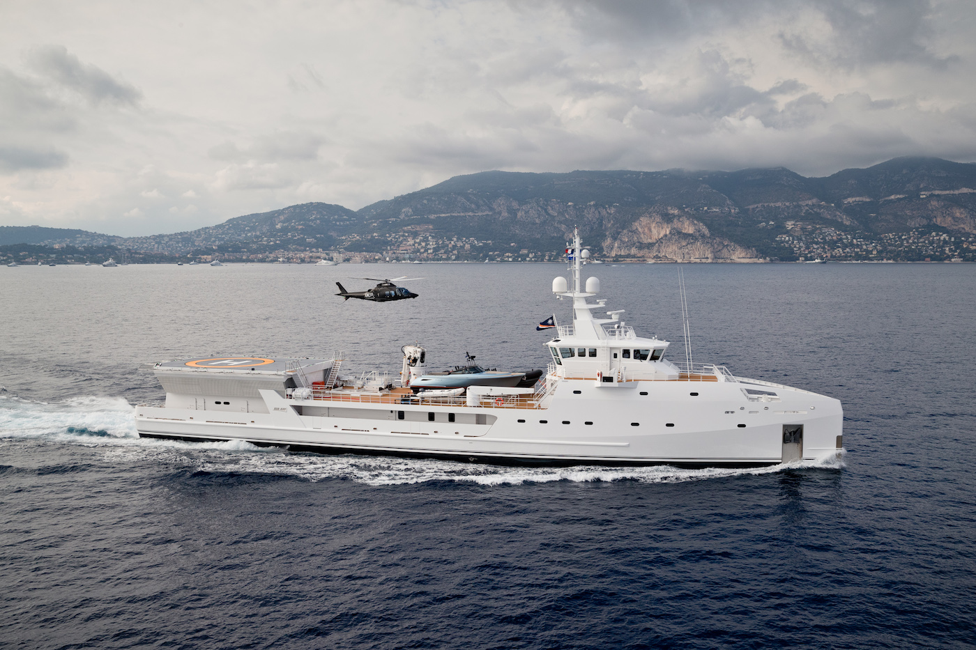 DAMEN Yacht Support GAME CHANGER  - Pre Refit