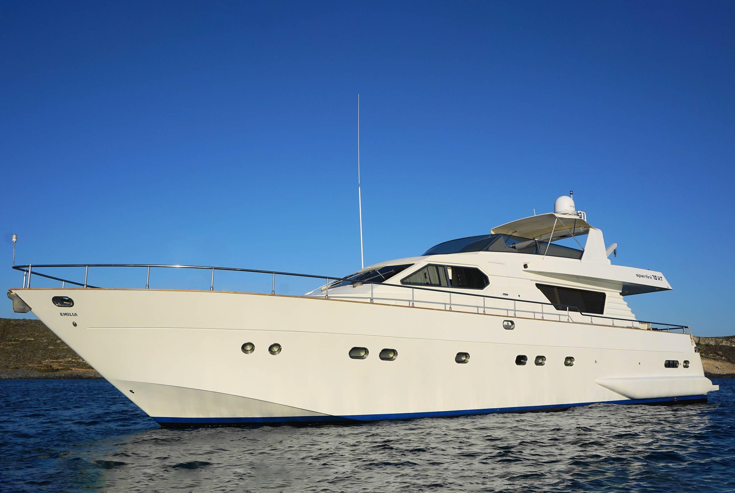 EMILIA Yacht Profile