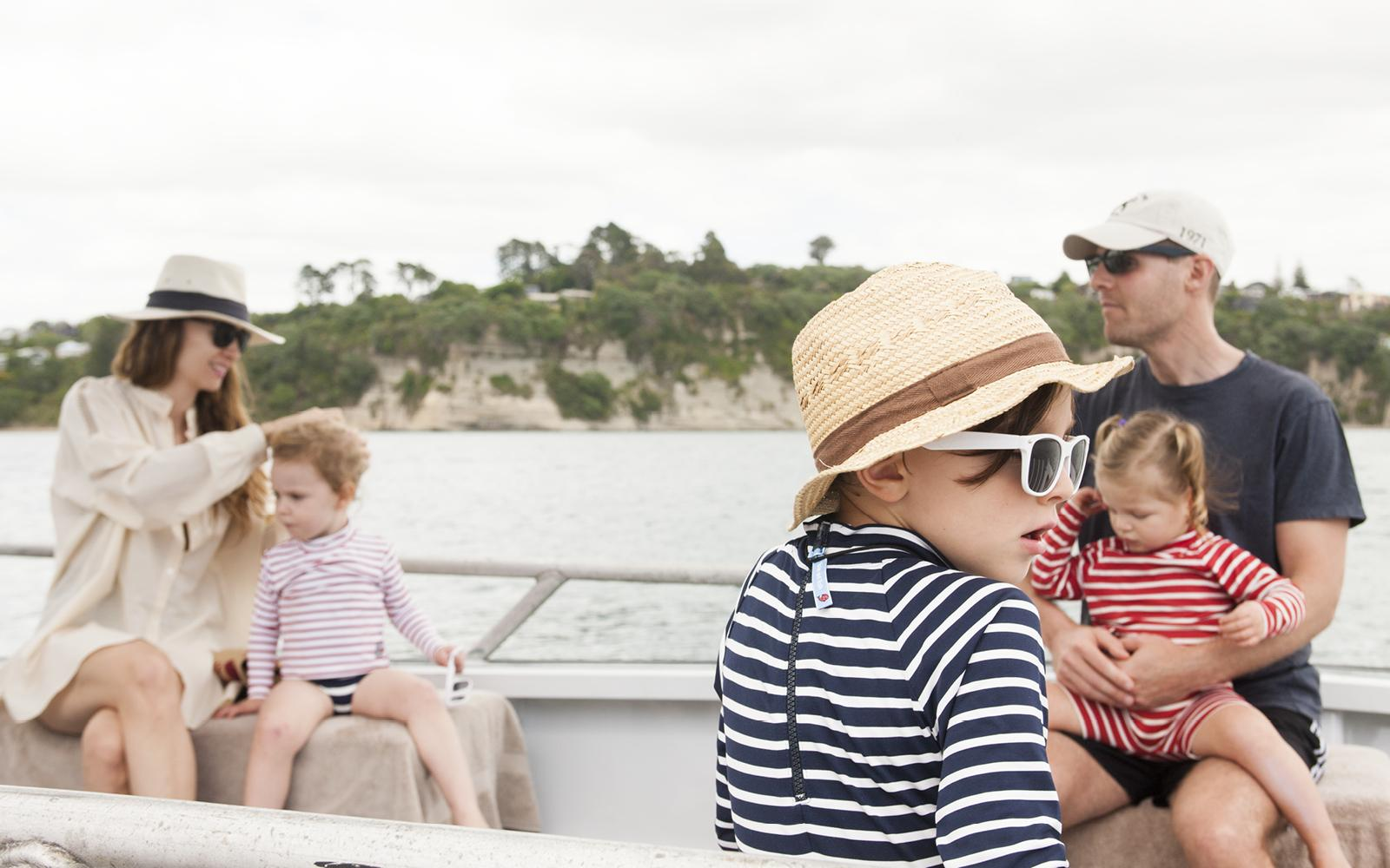 Family Yacht Charter Vacation
