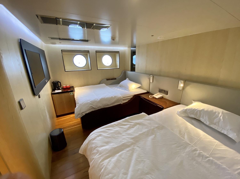 First Floor - Lower Deck Cabin