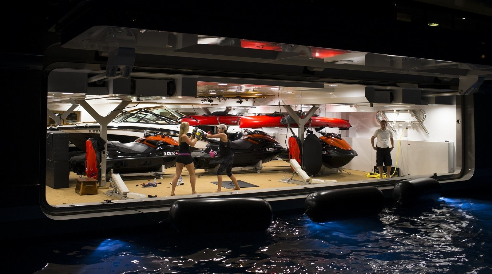 Gym And Toys Aboard 95m Mega Yacht