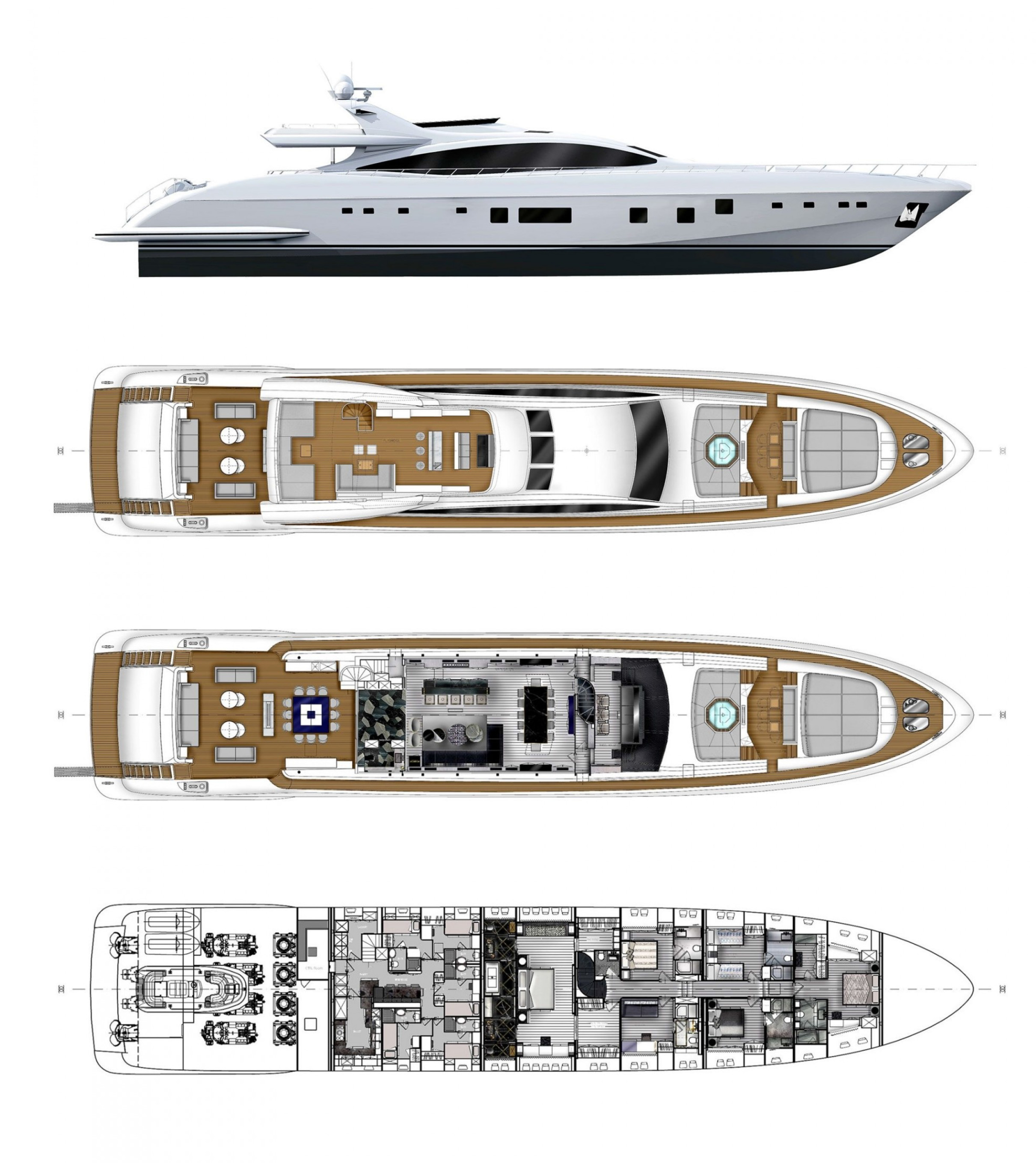Yacht Incognito layout
