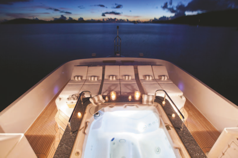 Jacuzzi From Above