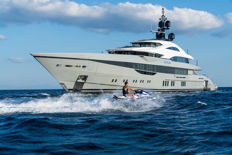 Jetski With Superyacht