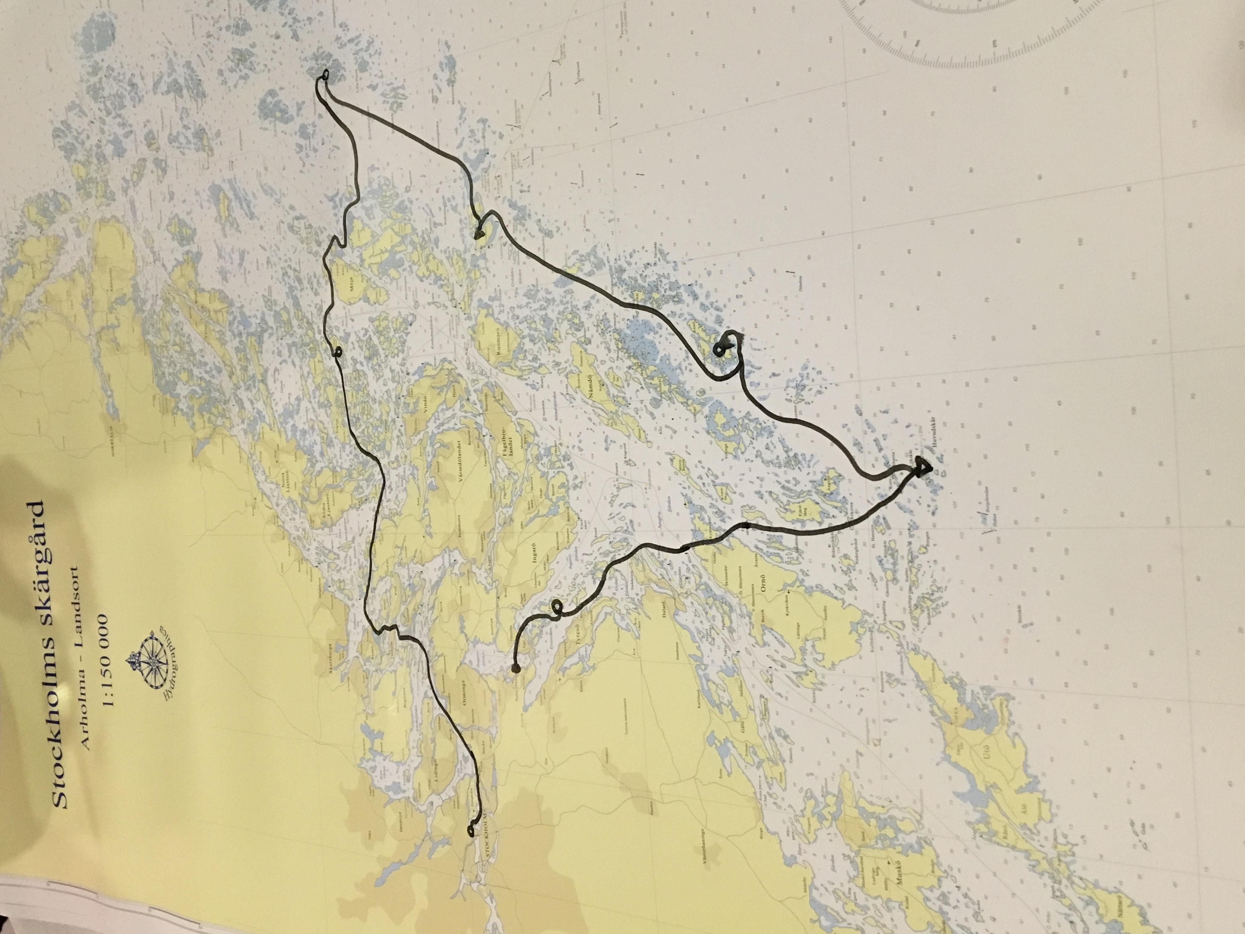 Ichiban ROUTE - Sweden Archipelago