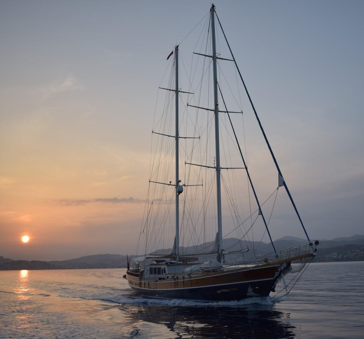 Kaya Guneri IV Sailing Yacht