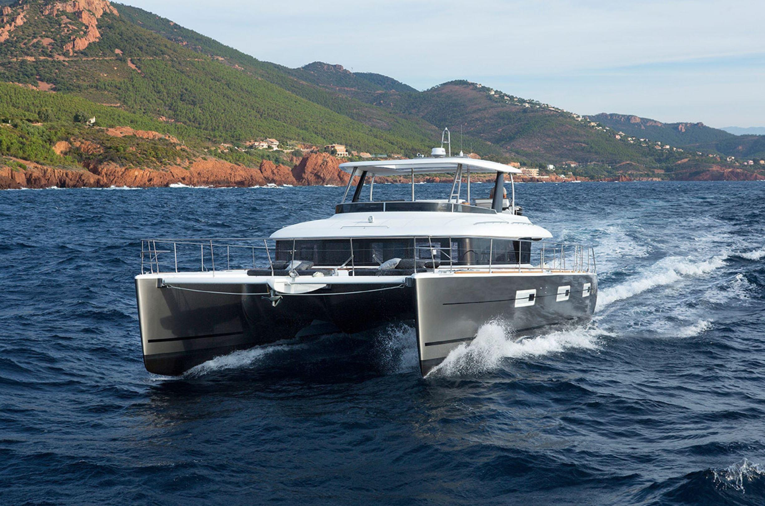 Lagoon Power Catamaran Yacht - Sistership To Long Monday