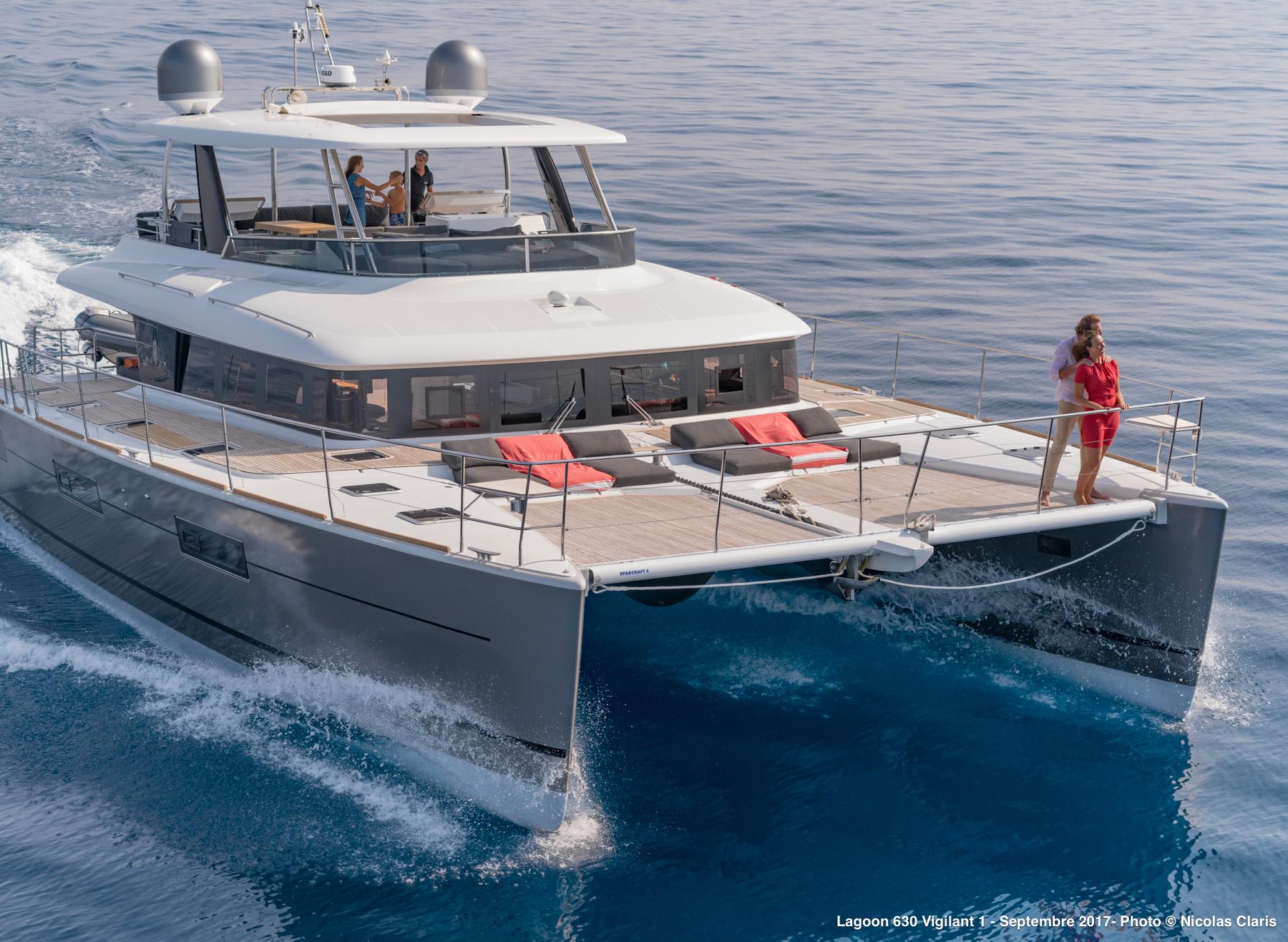 Lagoon Catamaran VIGILANT 1 - Bow Shot Cruising