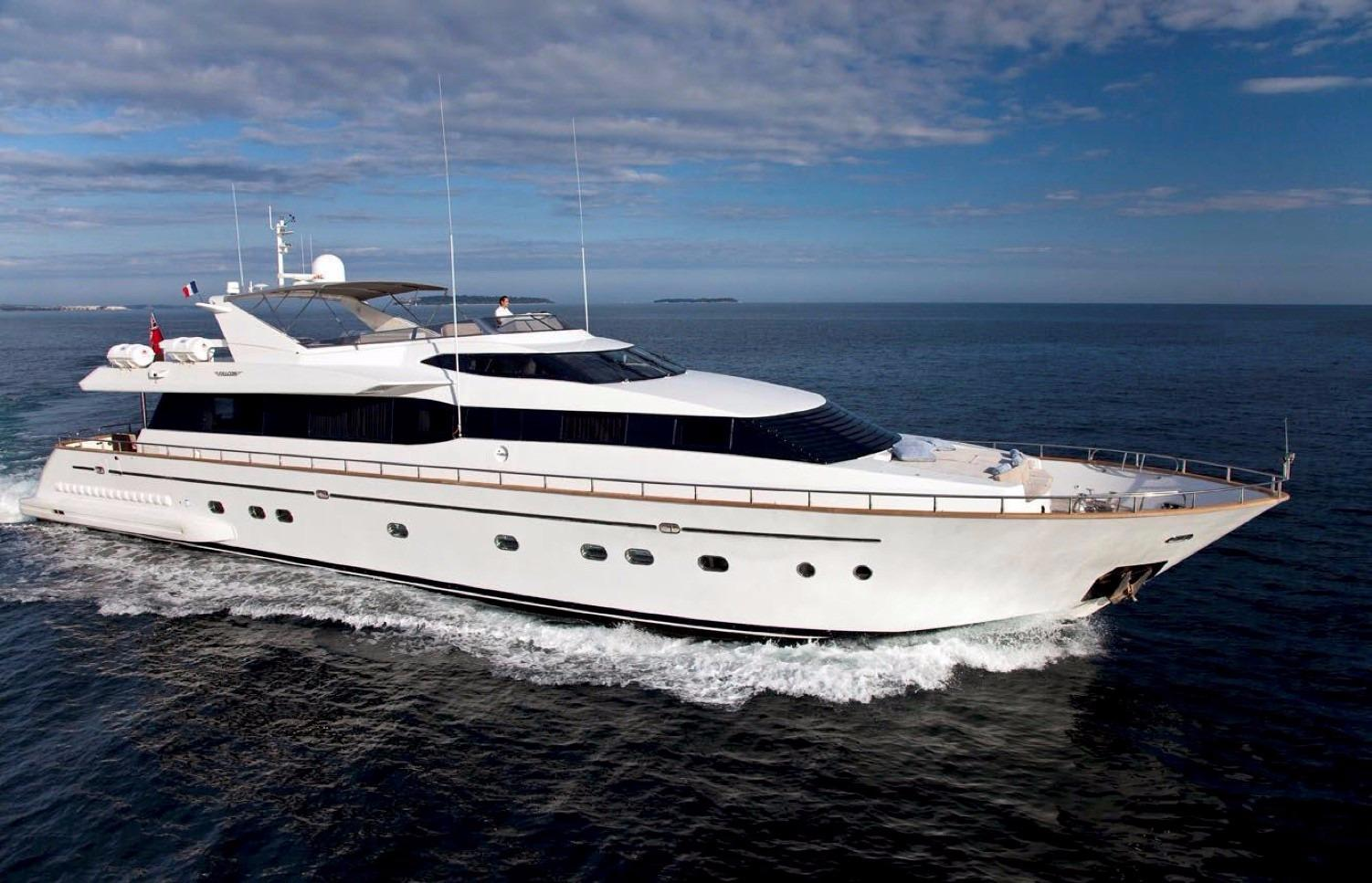 Liberte IV Yacht Charter Details, Falcon   CHARTERWORLD ...